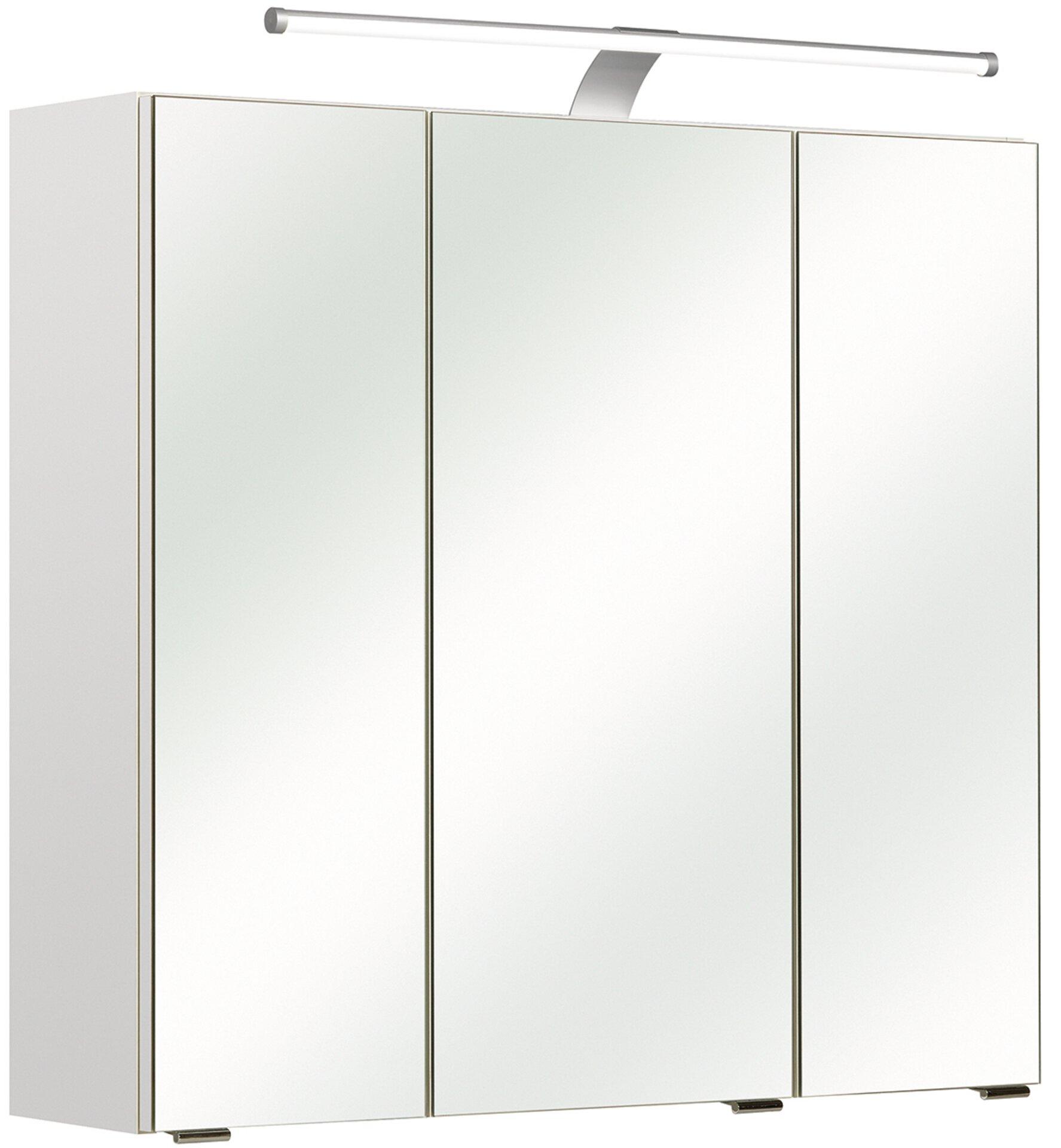 Spiegelschrank Ascoli I PELIPAL Holzwerkstoff weiß