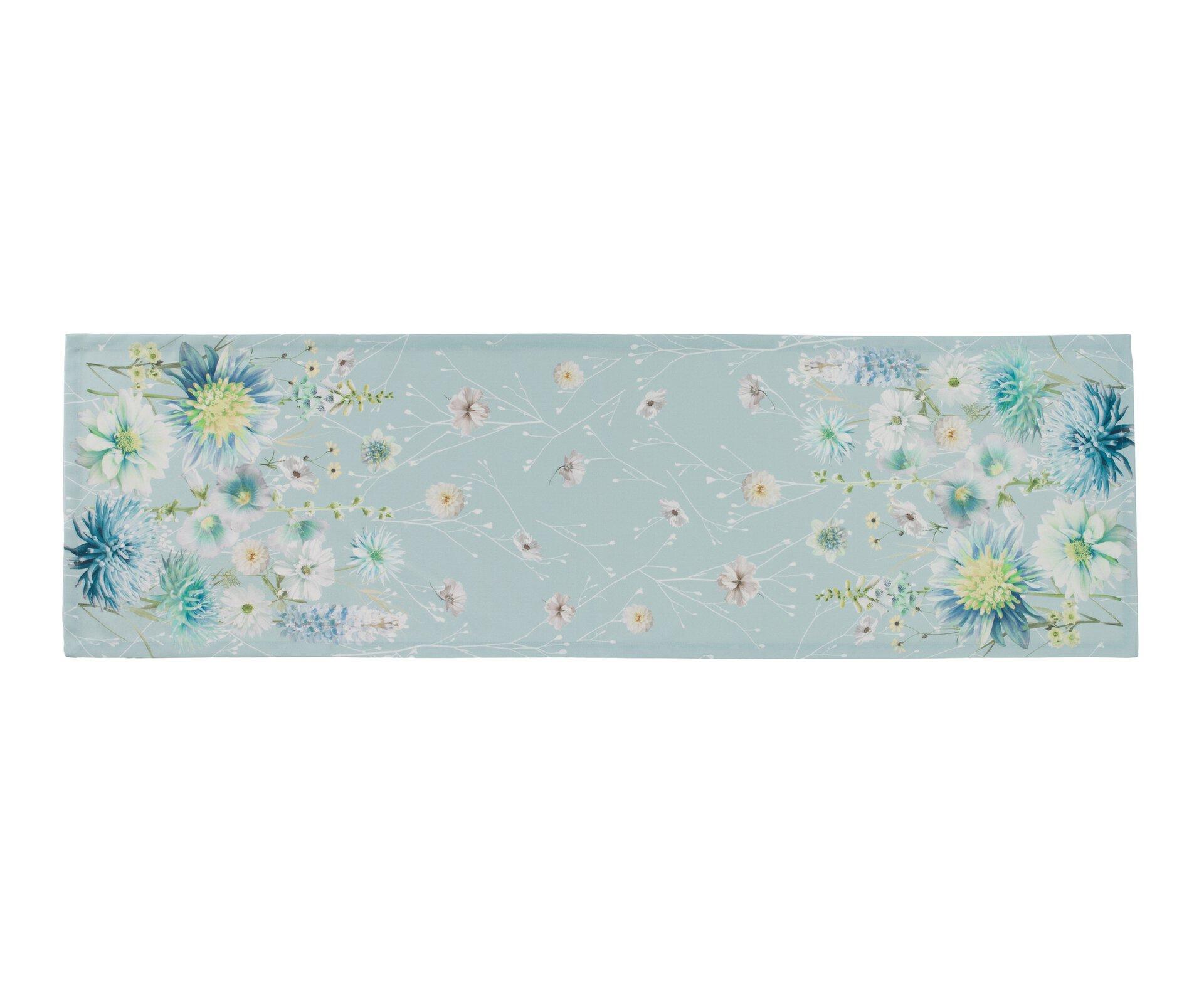 Tischläufer Contessa Ambiente Trendlife Textil Blau 40 x 140 cm