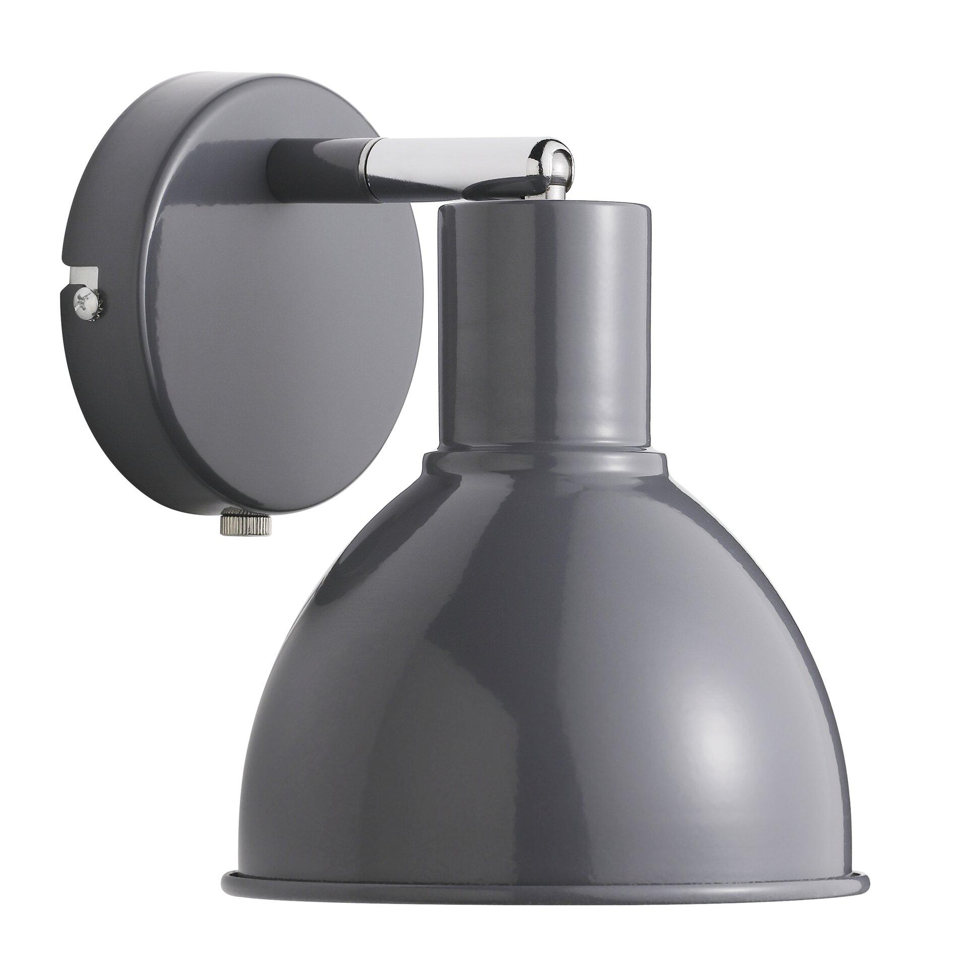 Wandleuchte POP Nordlux Metall grau 16 x 20 x 16 cm