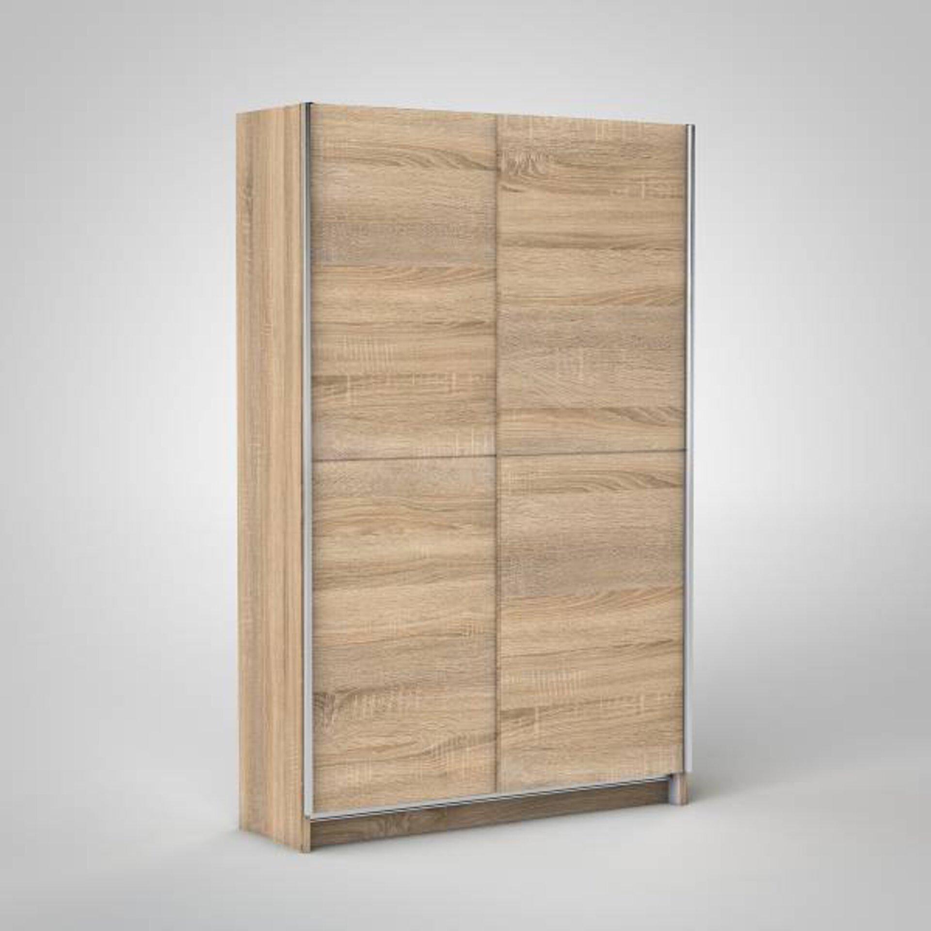 Schwebetürenschrank FAST Dreamoro Holzwerkstoff braun