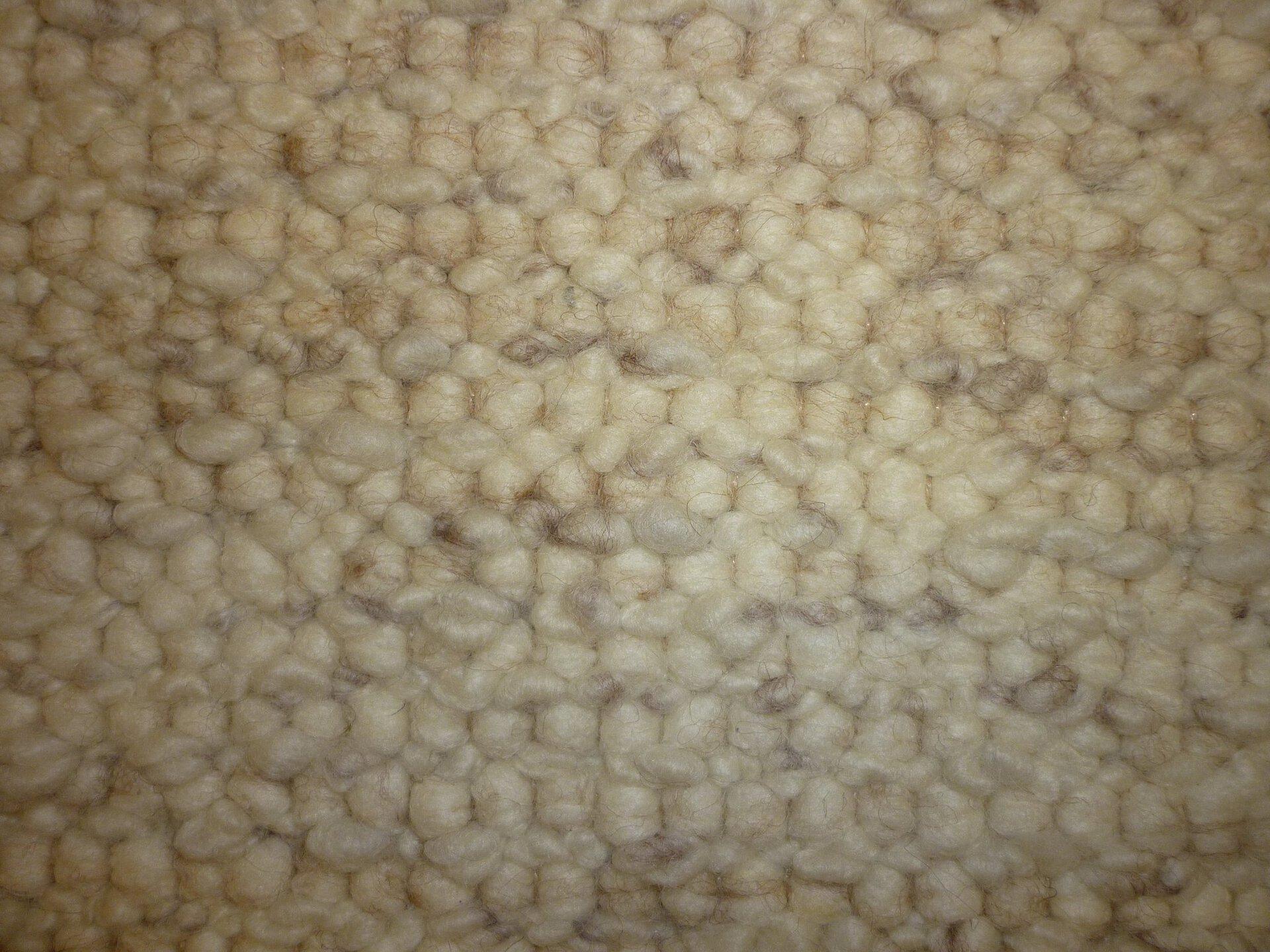 Handwebteppich Weitblick Polaris Allgäuer Teppichmanufaktur Textil beige