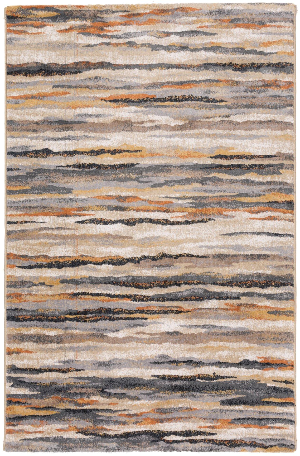 Handtuftteppich Anna Maria Gino Falcone Textil grau