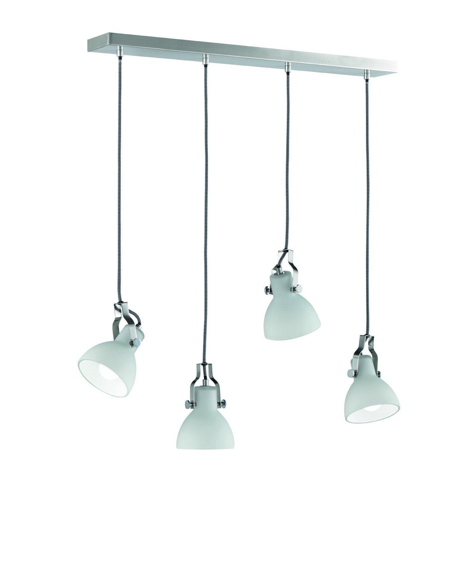 Hängeleuchte Ginelli Trio Leuchten Metall 12 x 150 x 70 cm