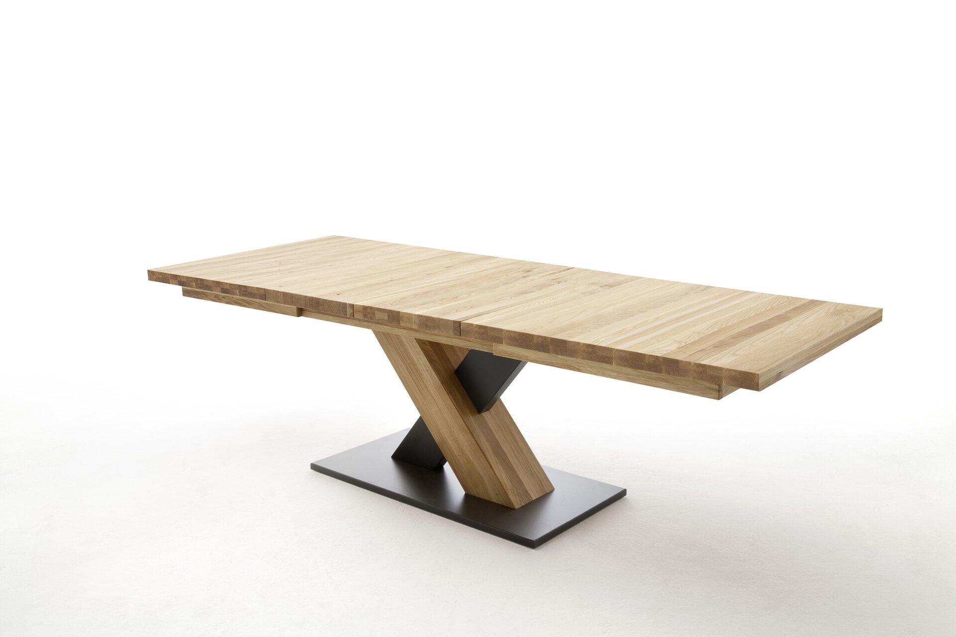 Esstisch MENDOZA MCA furniture Holz braun 100 x 78 x 180 cm
