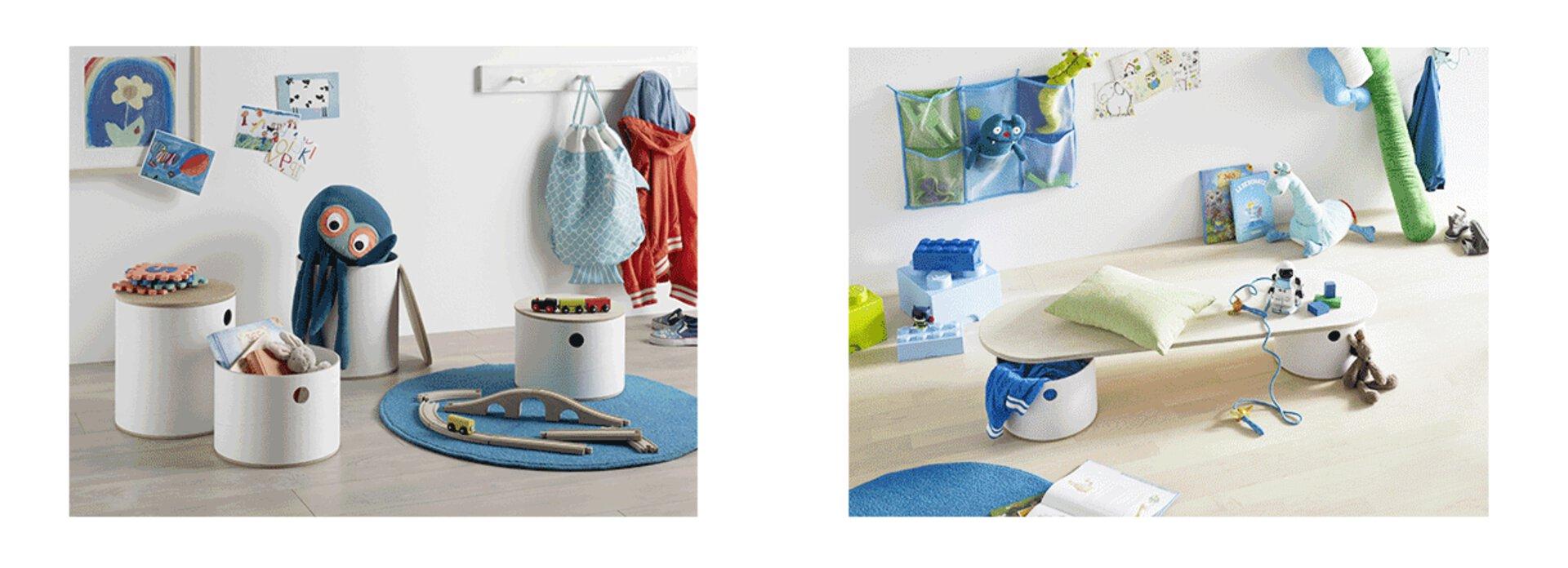 Diese besonderen Möbel lassen sich individuell von Ihnen oder Ihren Kinder bemalen. Lassen Sie sich inspirieren und finden Sie weitere einzigartige Kindermöbel für Ihr Zimmer.