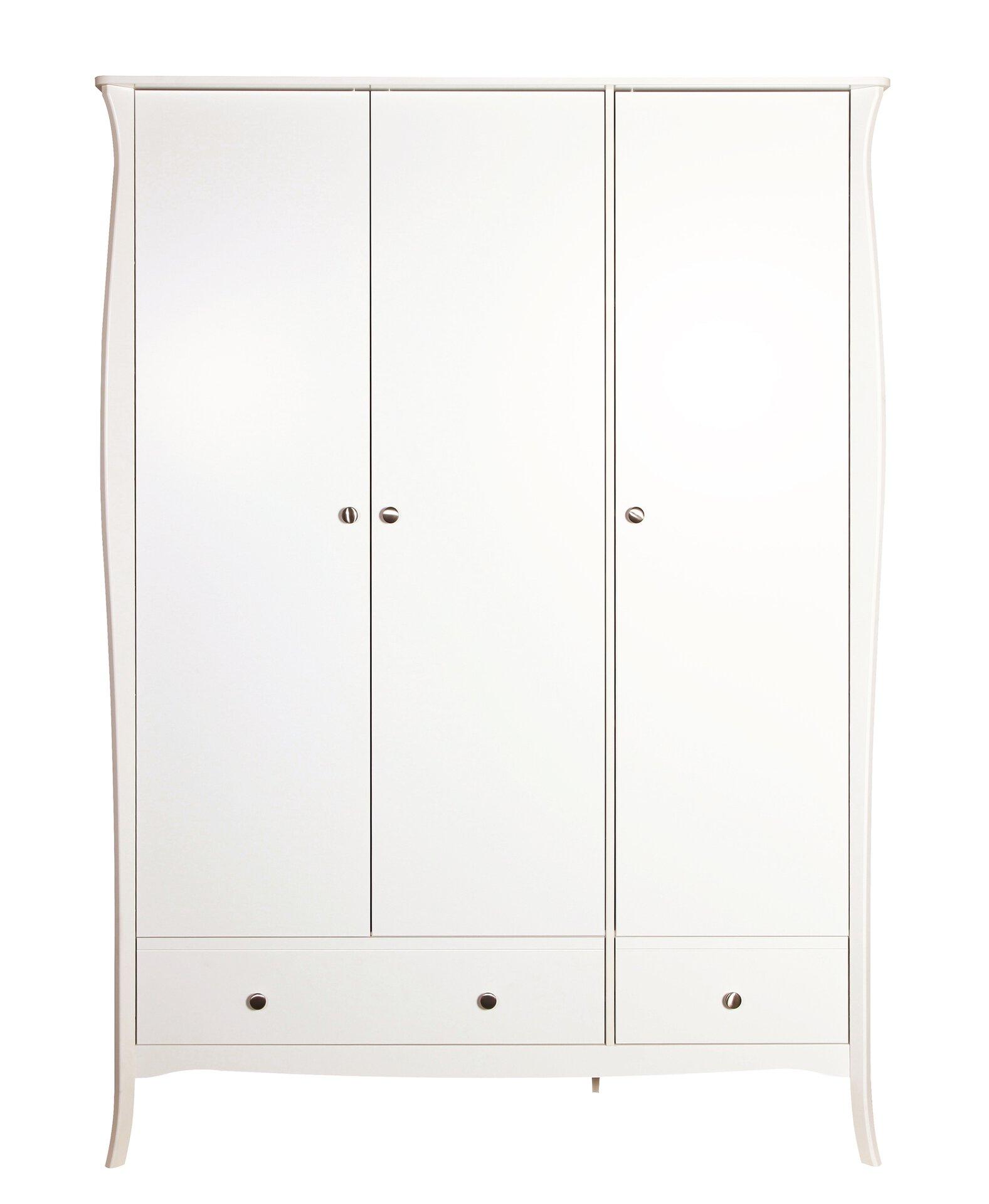 Kleiderschrank BAROQUE Dreamoro Holzwerkstoff weiß 1 x 2 x 1 cm