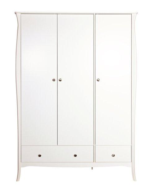 Kleiderschrank Dreamoro Holzwerkstoff Weiss Nachbildung ca. 1 cm x 2 cm x 1 cm