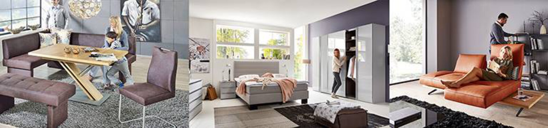 Titel-Banner-Bild zu Möbel-Gütepass -Speise-, Schlaf- und Wohnzimmer