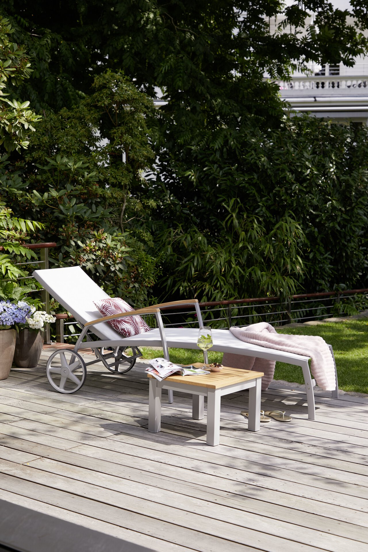 Liege SYLT Outdoor Textil 103 x 78 x 180 cm
