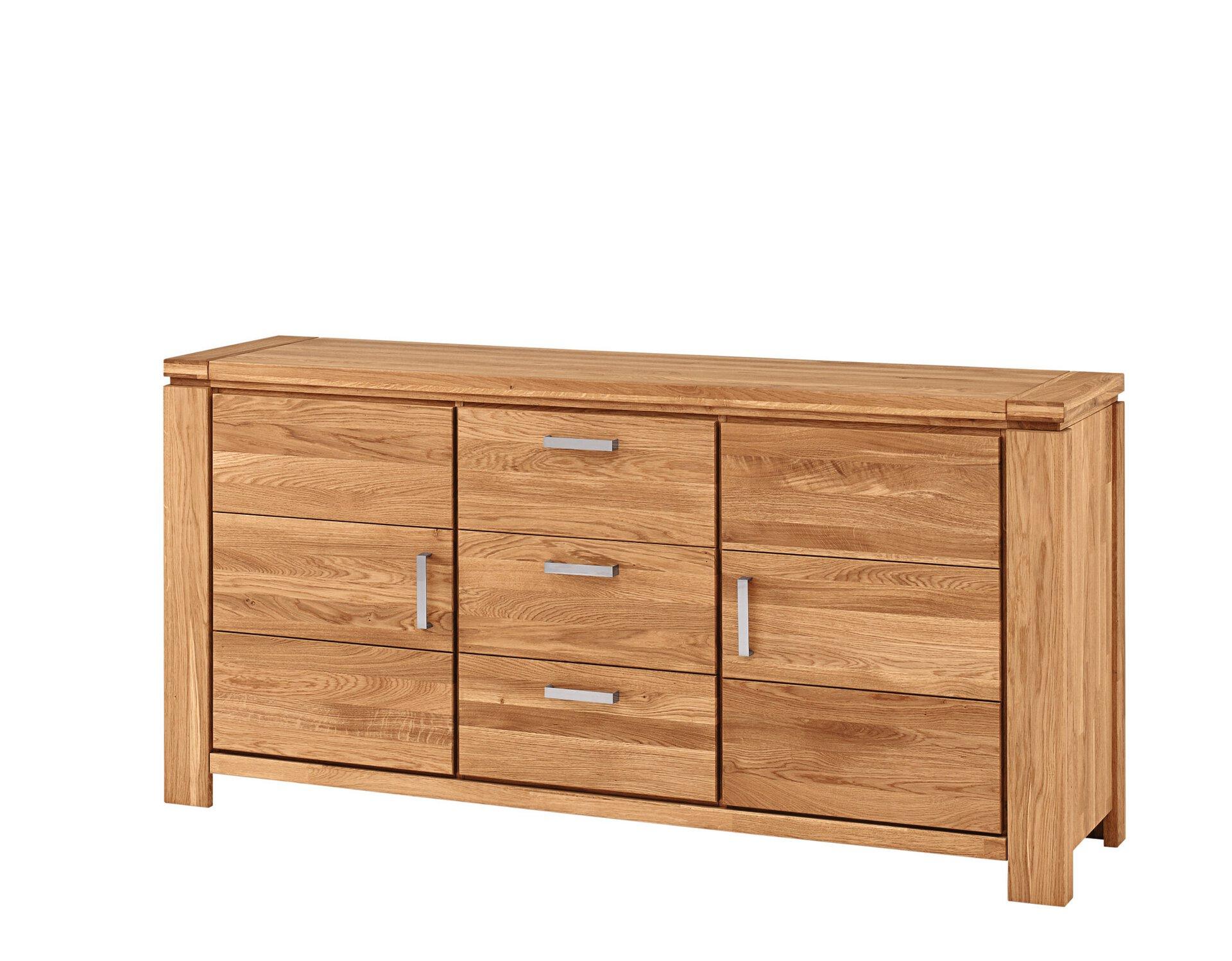 Sideboard GLANDIS VALMONDO Holz braun 85 x 1 x 2 cm