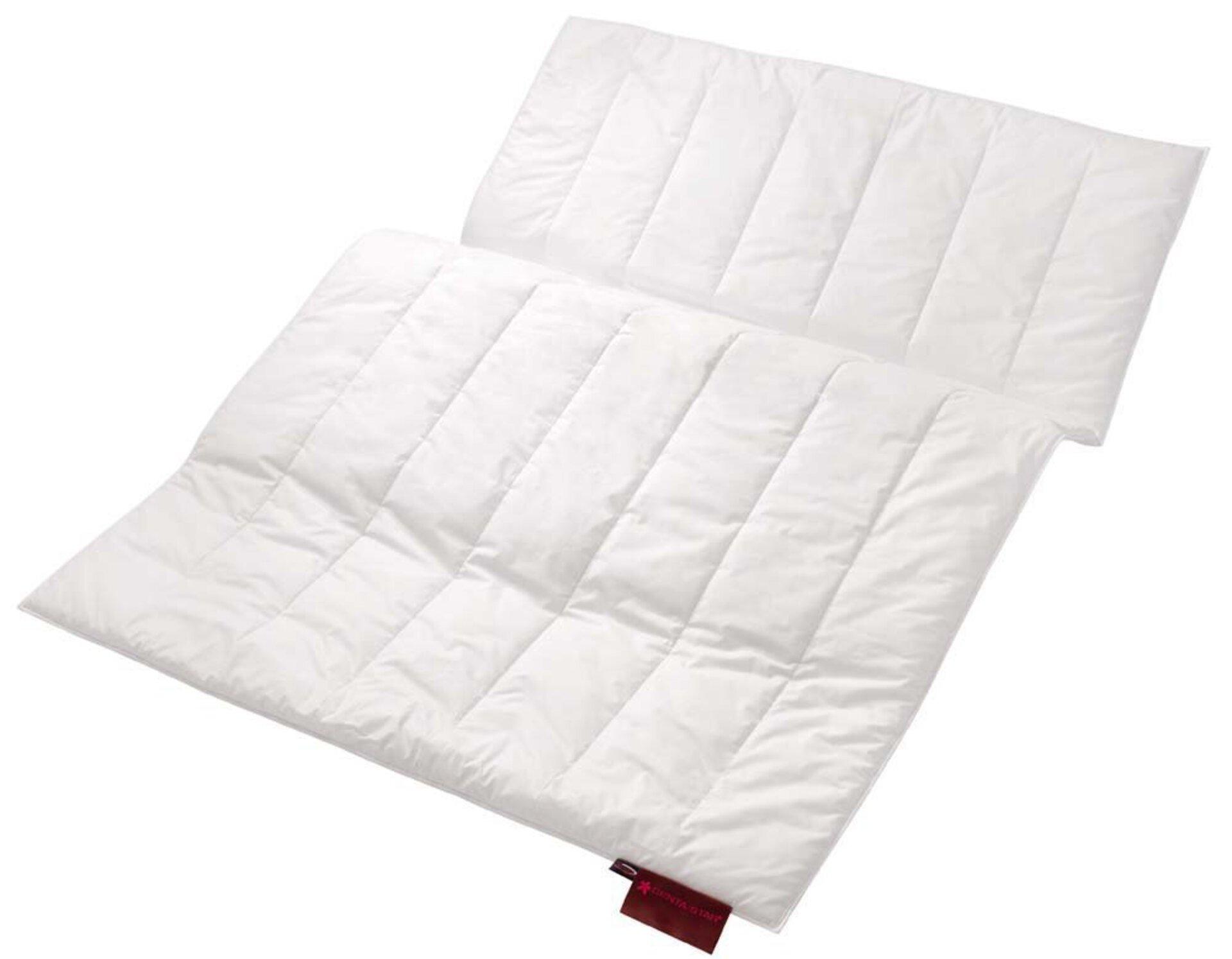 Ganzjahresdecke ROYAL Duo-Leicht-Bett Centa-Star Textil weiß 200 x 200 cm