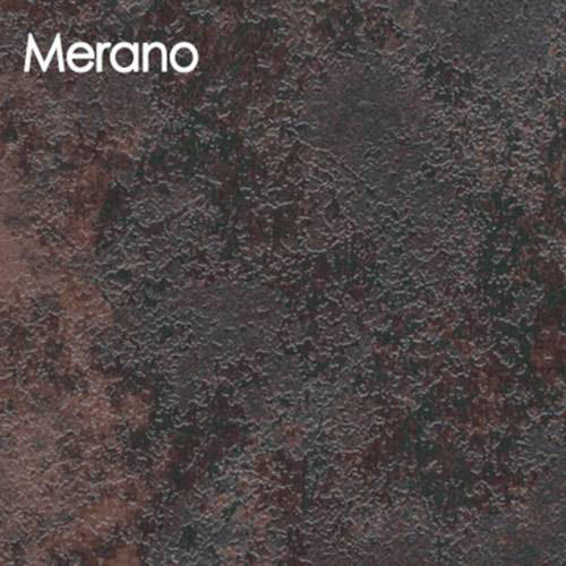 Arbeitsplatte aus Laminat in der rötlich braunen Steinoptik Merano.