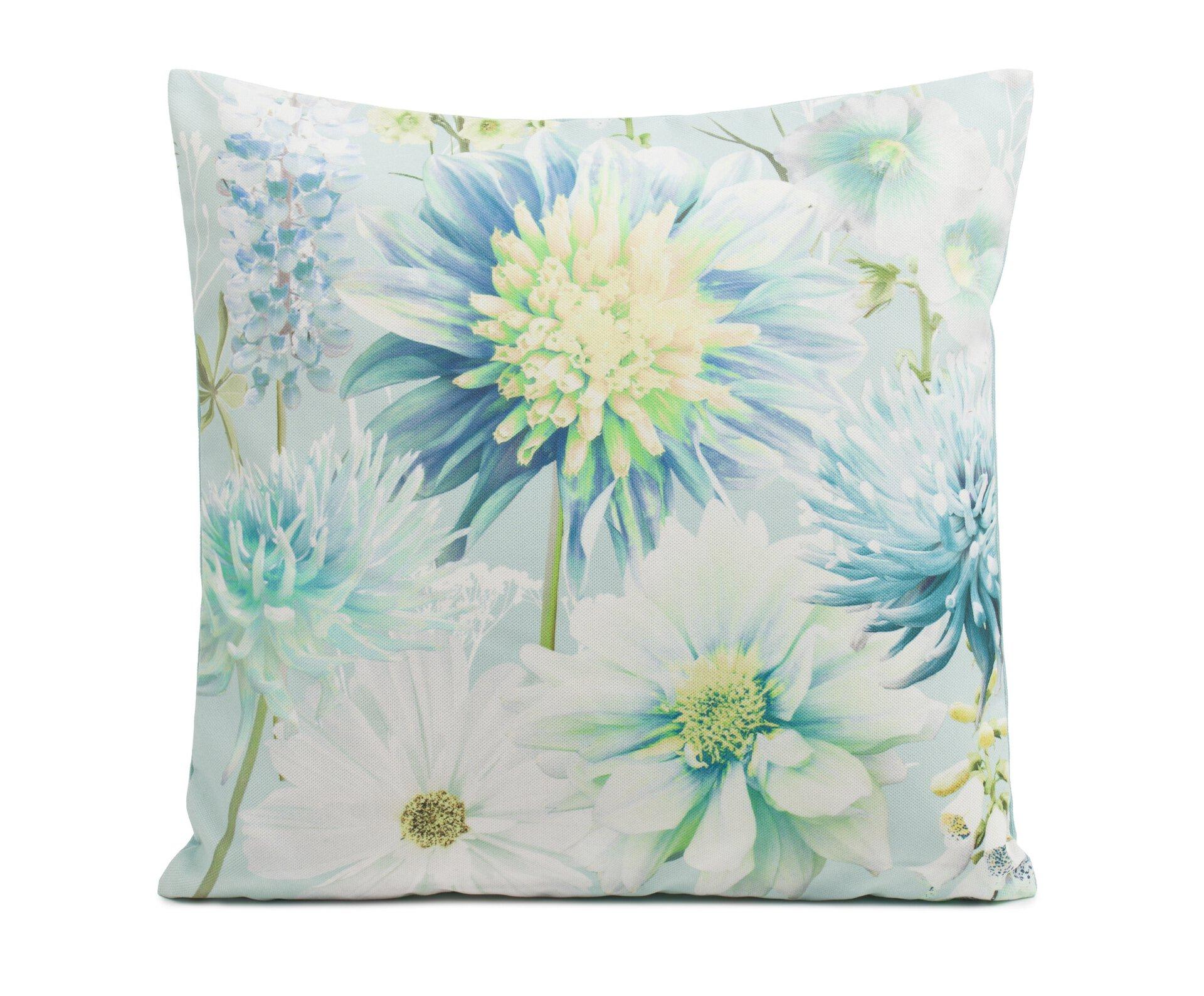 Kissenhülle Contessa Ambiente Trendlife Textil Blau 50 x 50 cm