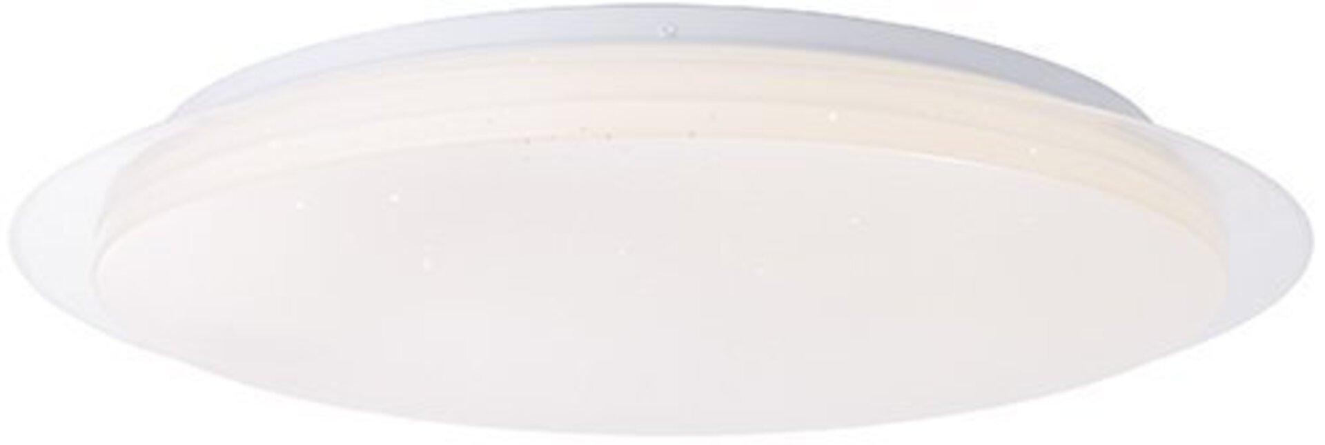 Deckenleuchte VITTORIA Brilliant Kunststoff weiß 57 x 9 x 57 cm