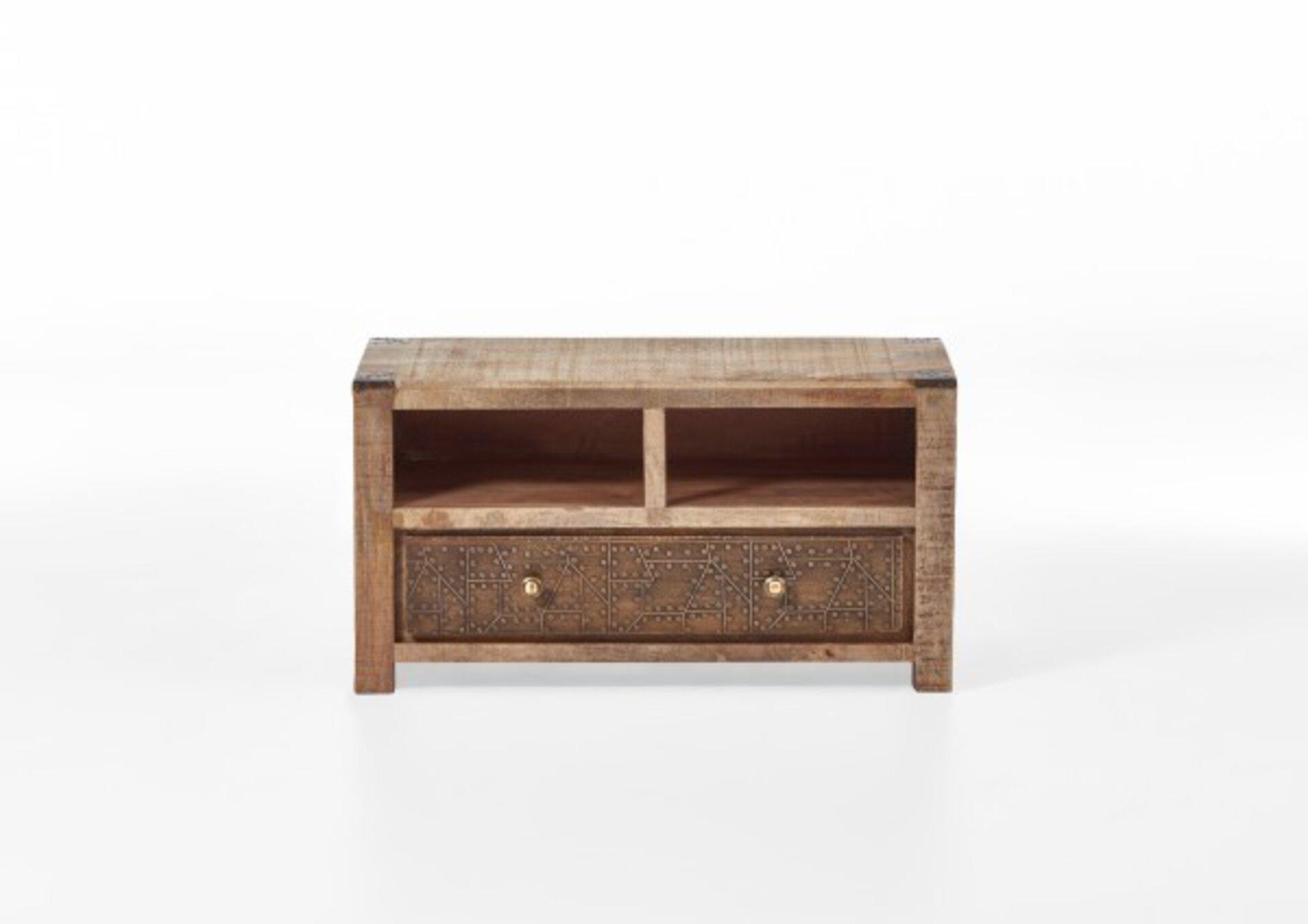 Garderobenbank CURL Vito Holz 40 x 48 x 90 cm