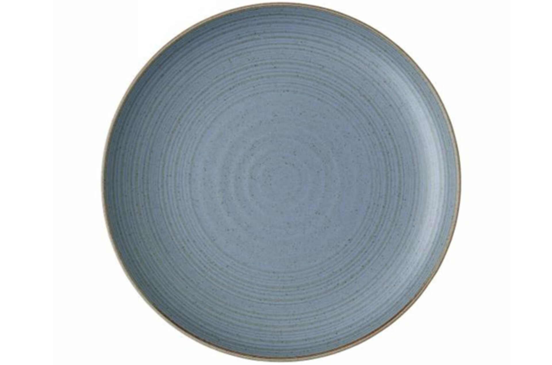 grau-blauer Teller