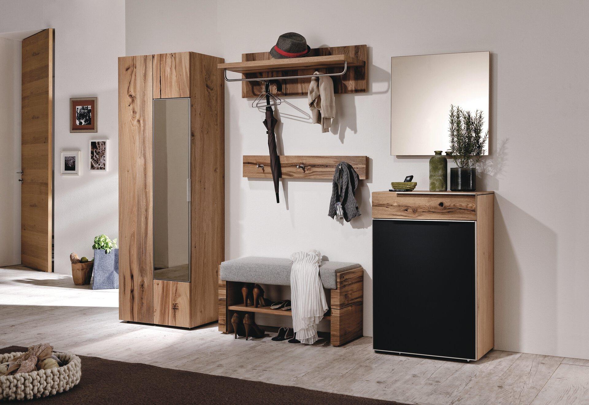 Garderobenschrank V-ALPIN Voglauer Holzwerkstoff 43 x 194 x 64 cm