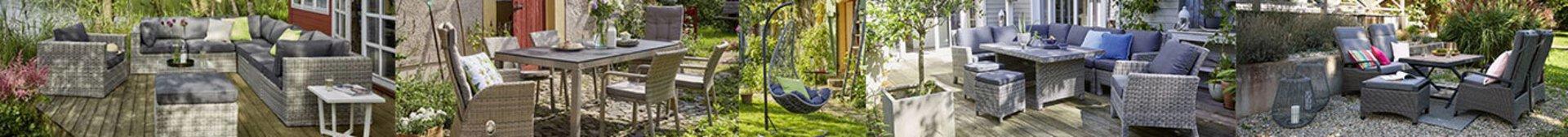 Bannerbild der Inhofer Eigenmarke Outdoor - Gartenmöbel mit Flair.
