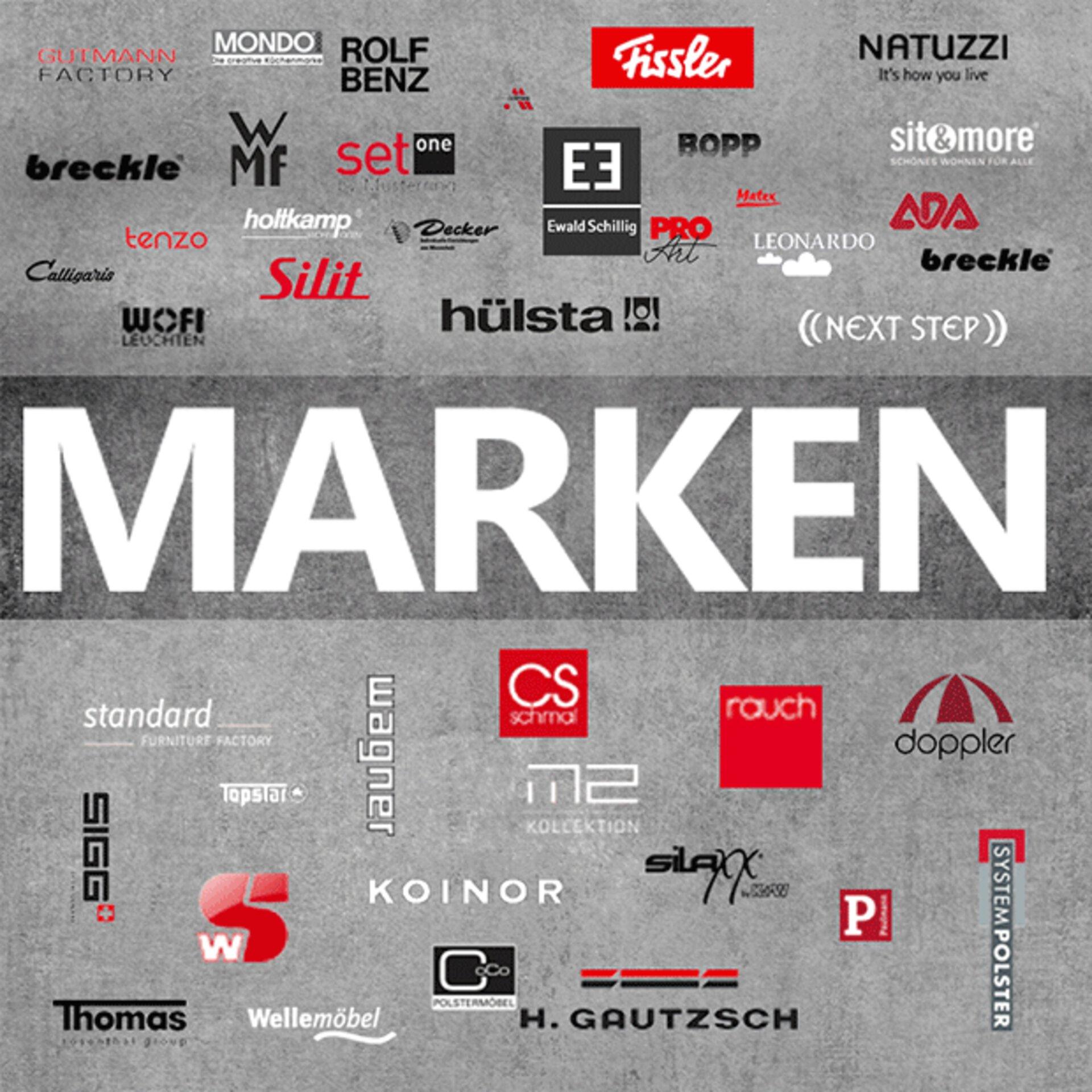 """Titelbild zu """"Marken"""" bei Möbel Inhofer"""