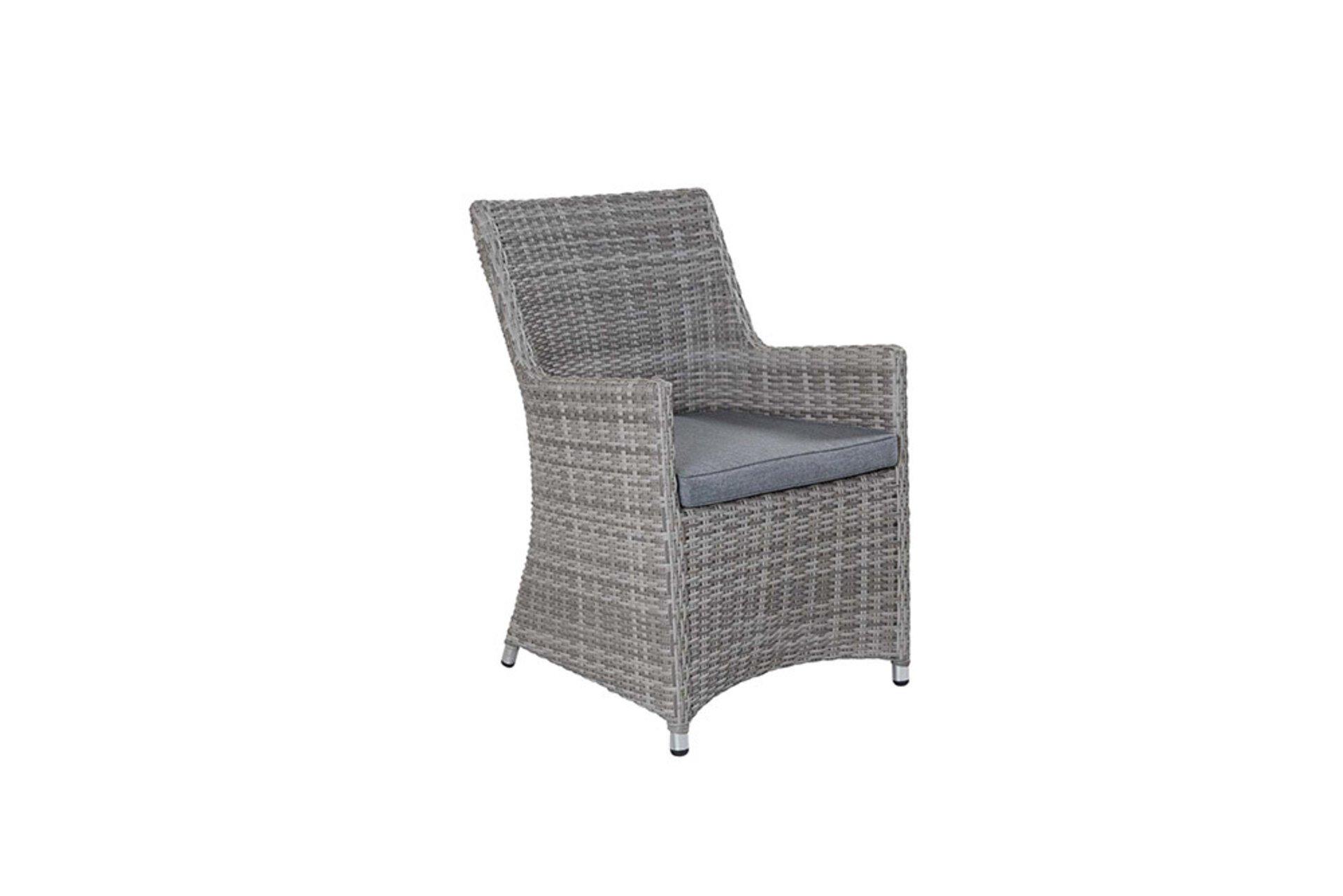 Gartenstuhl NIZZA LC Wholesaler Textil weiß 1 x 1 x 1 cm