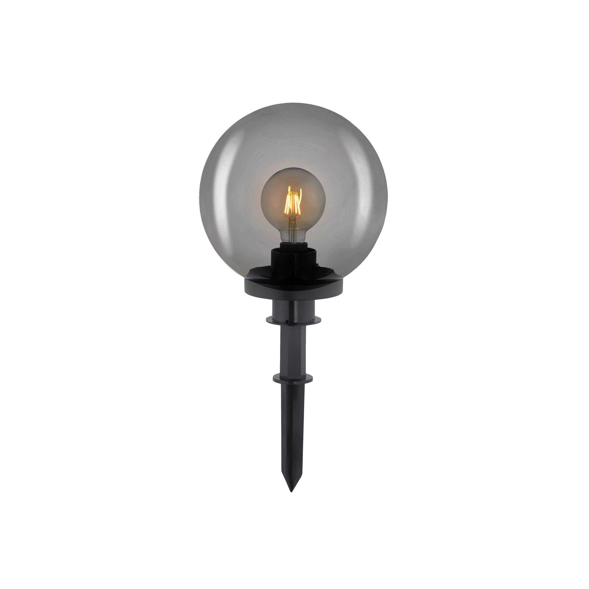 Wege-Außenleuchte KIRA Leuchtendirekt Metall schwarz 20 x 51 x 20 cm