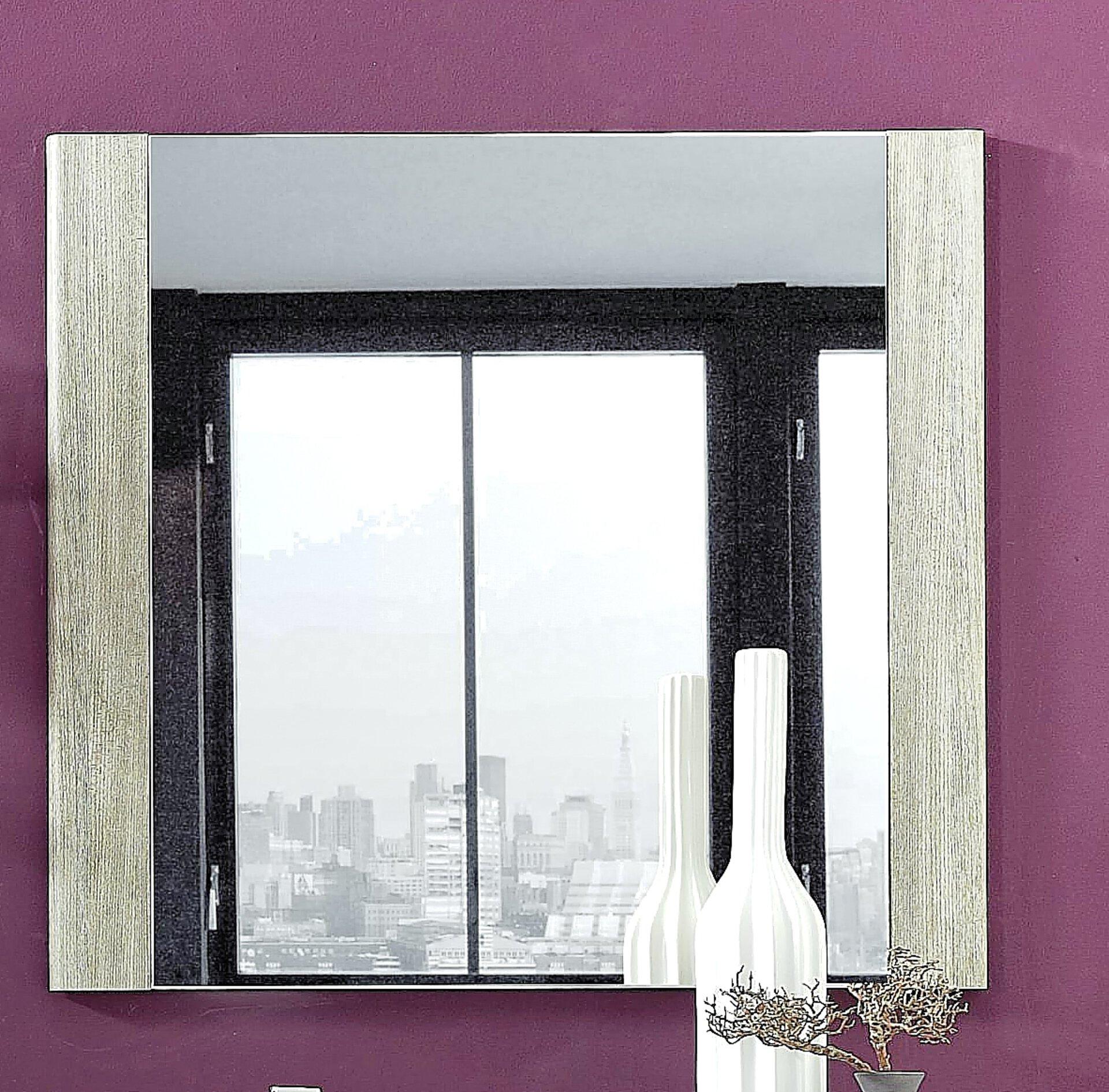 Spiegel PETRINA Vito Holzwerkstoff mehrfarbig 3 x 70 x 76 cm