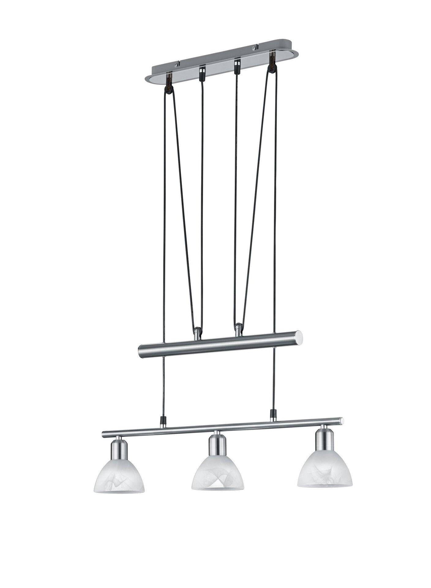 Hängeleuchte Levisto Trio Leuchten Metall 95 x 60 cm