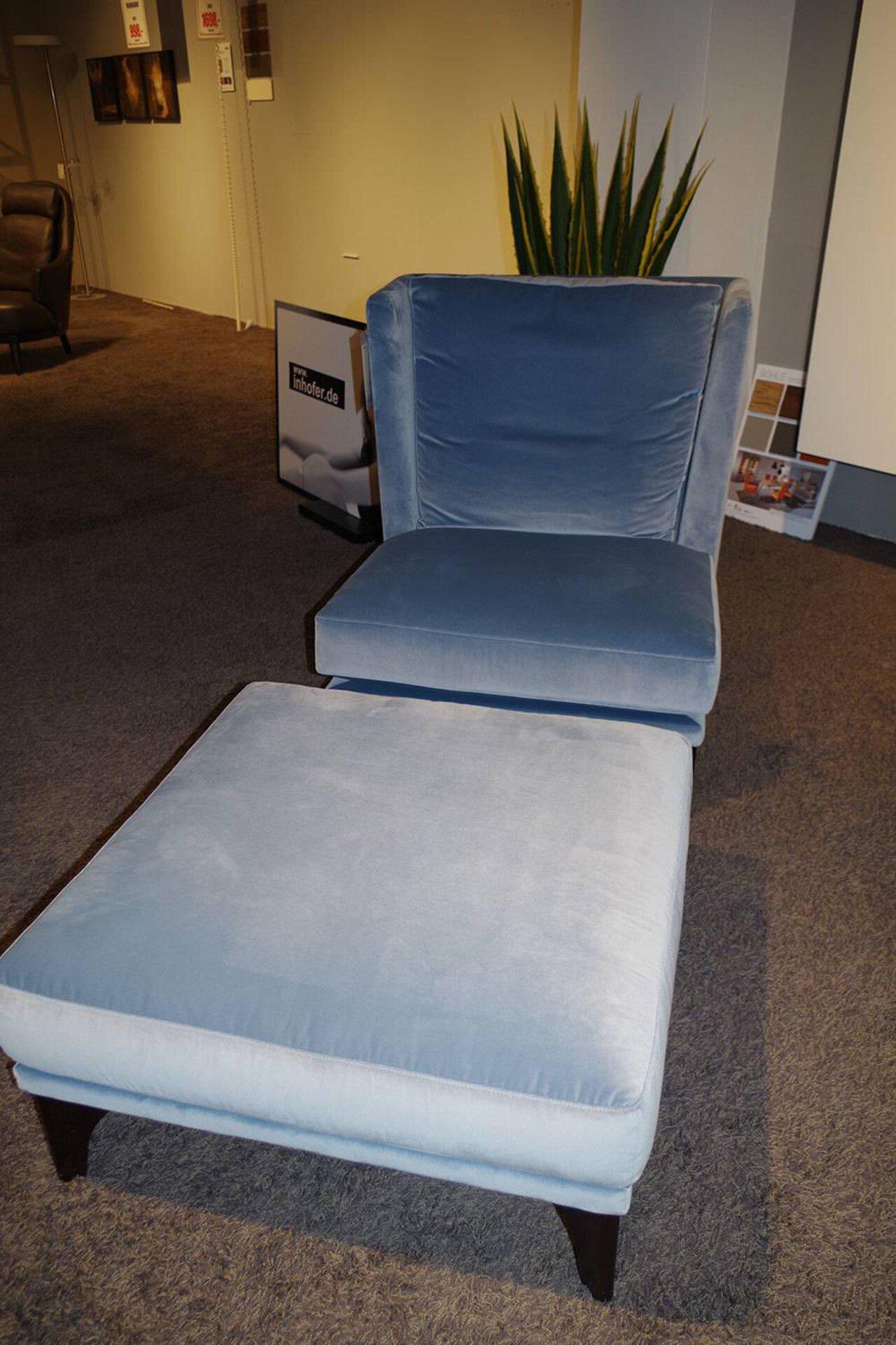 Sessel incl. Hocker