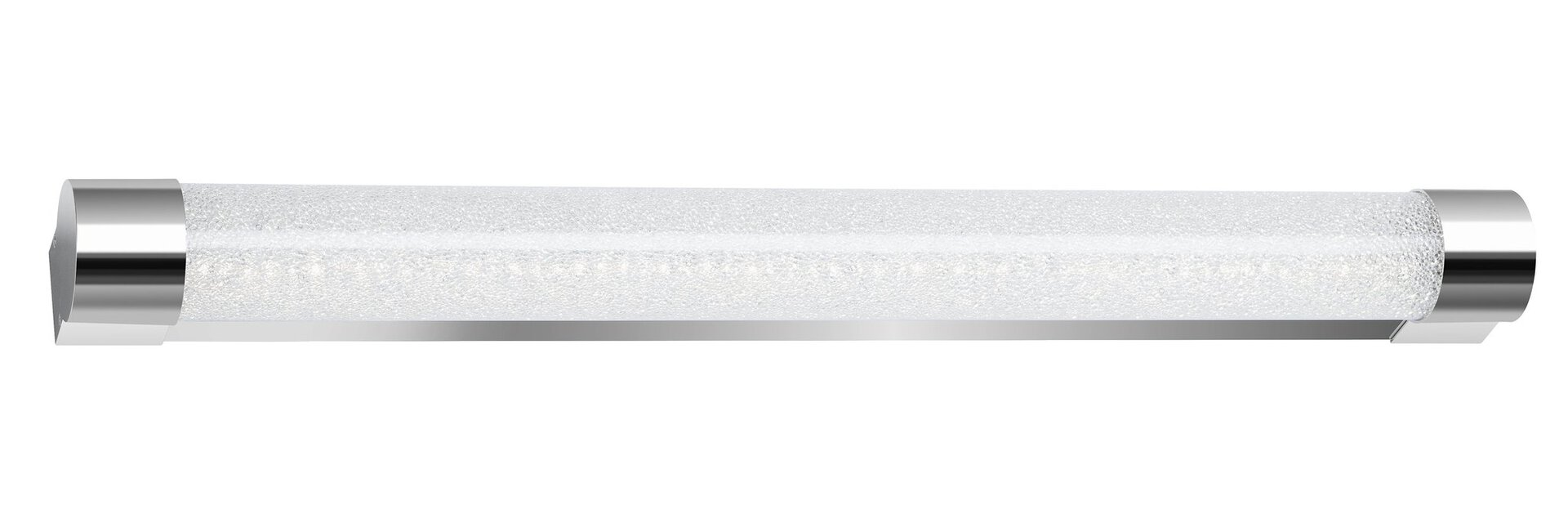 Bad-Wandleuchte Cool & Cosy Briloner Metall silber 7 x 5 x 59 cm
