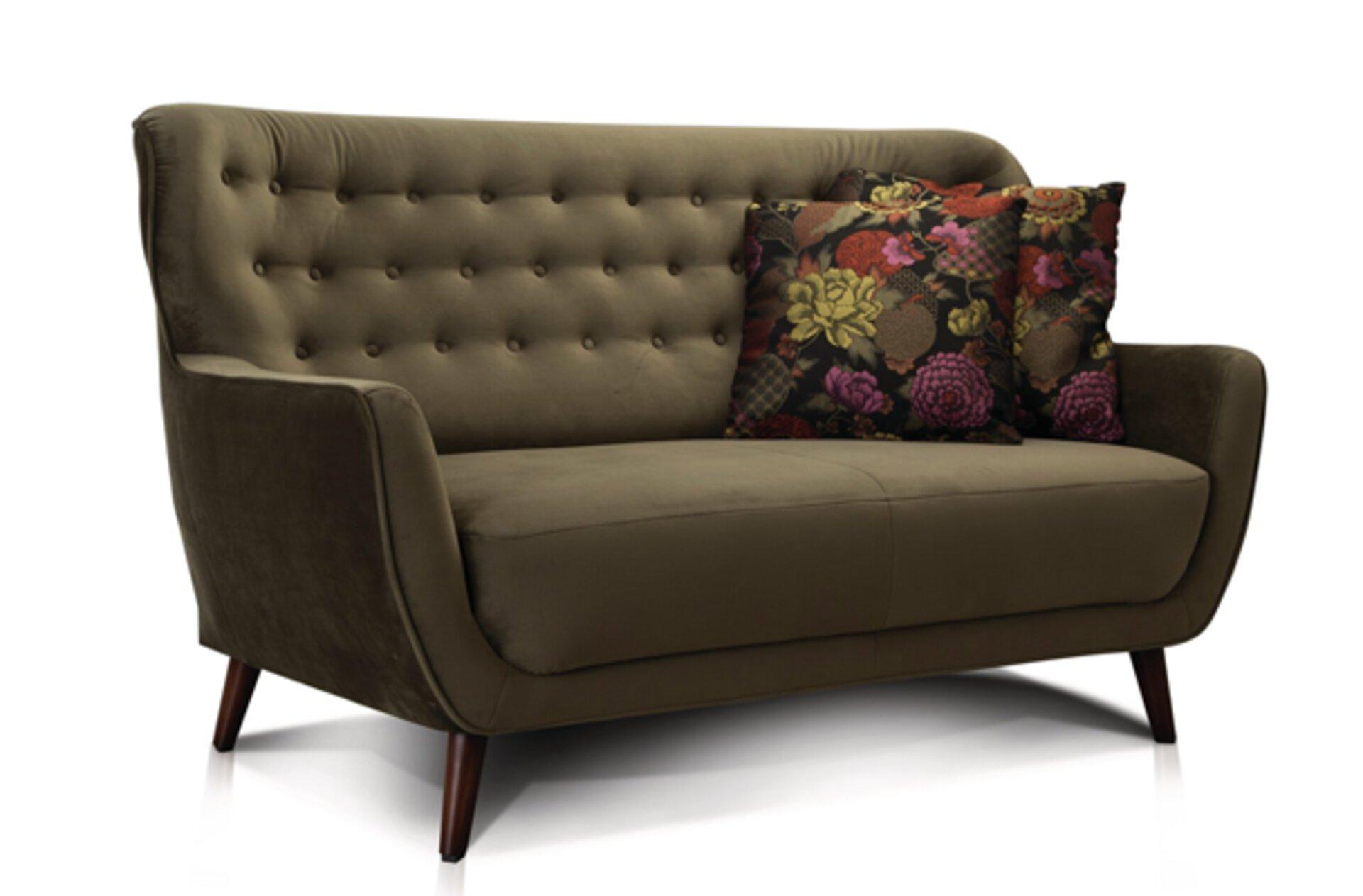 Sofa Dreisitzer in Grün