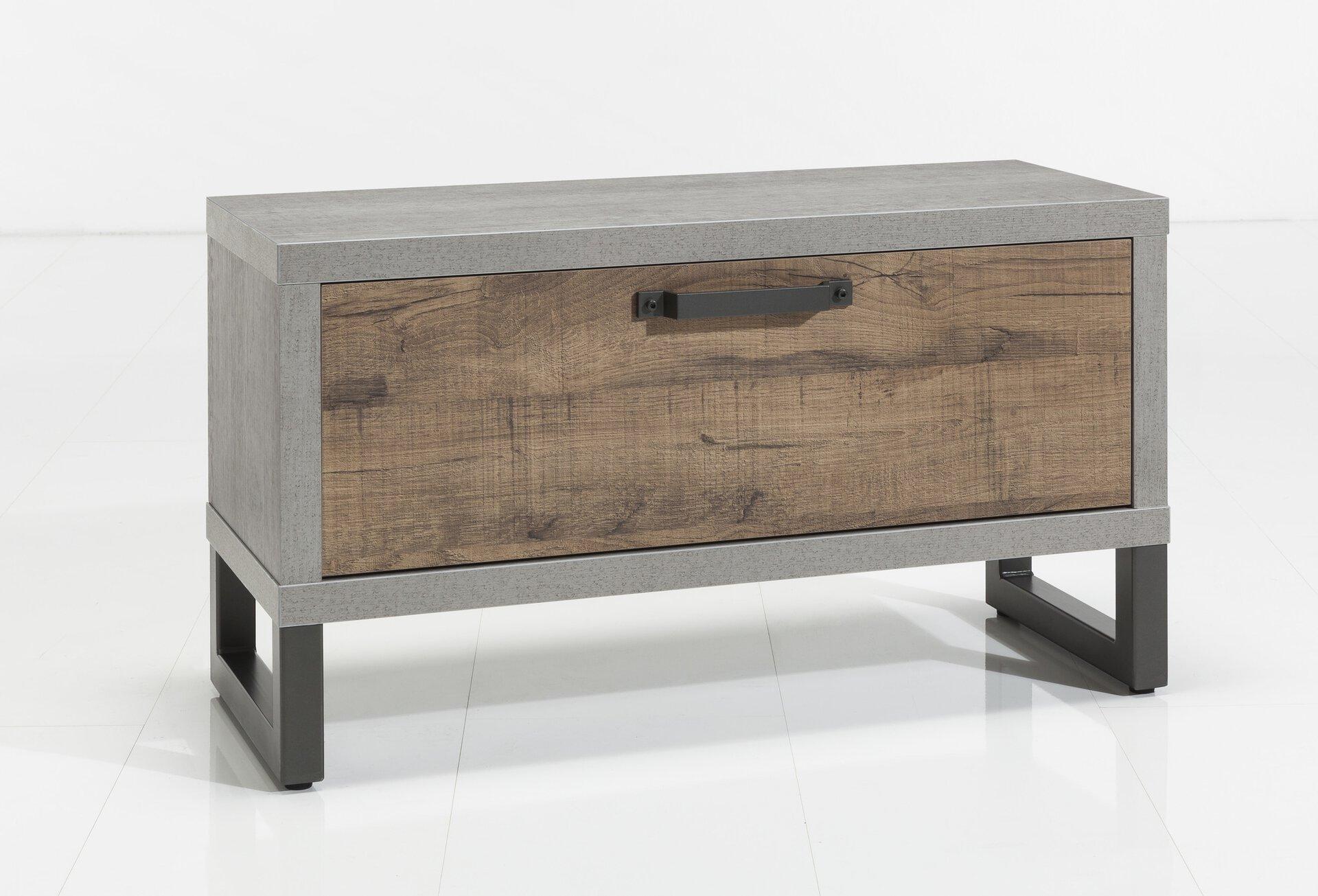 Garderobenbank LAFABRICA inDoor Holzwerkstoff 1 x 1 cm