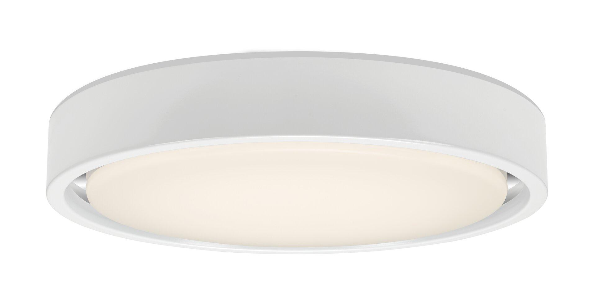 Deckenleuchte TALENA Briloner Metall weiß 36 x 8 x 36 cm
