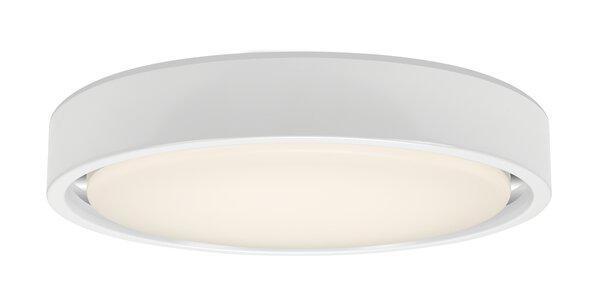Deckenleuchte Briloner Metall weiß, chrom ca. 36 cm x 8 cm x 36 cm
