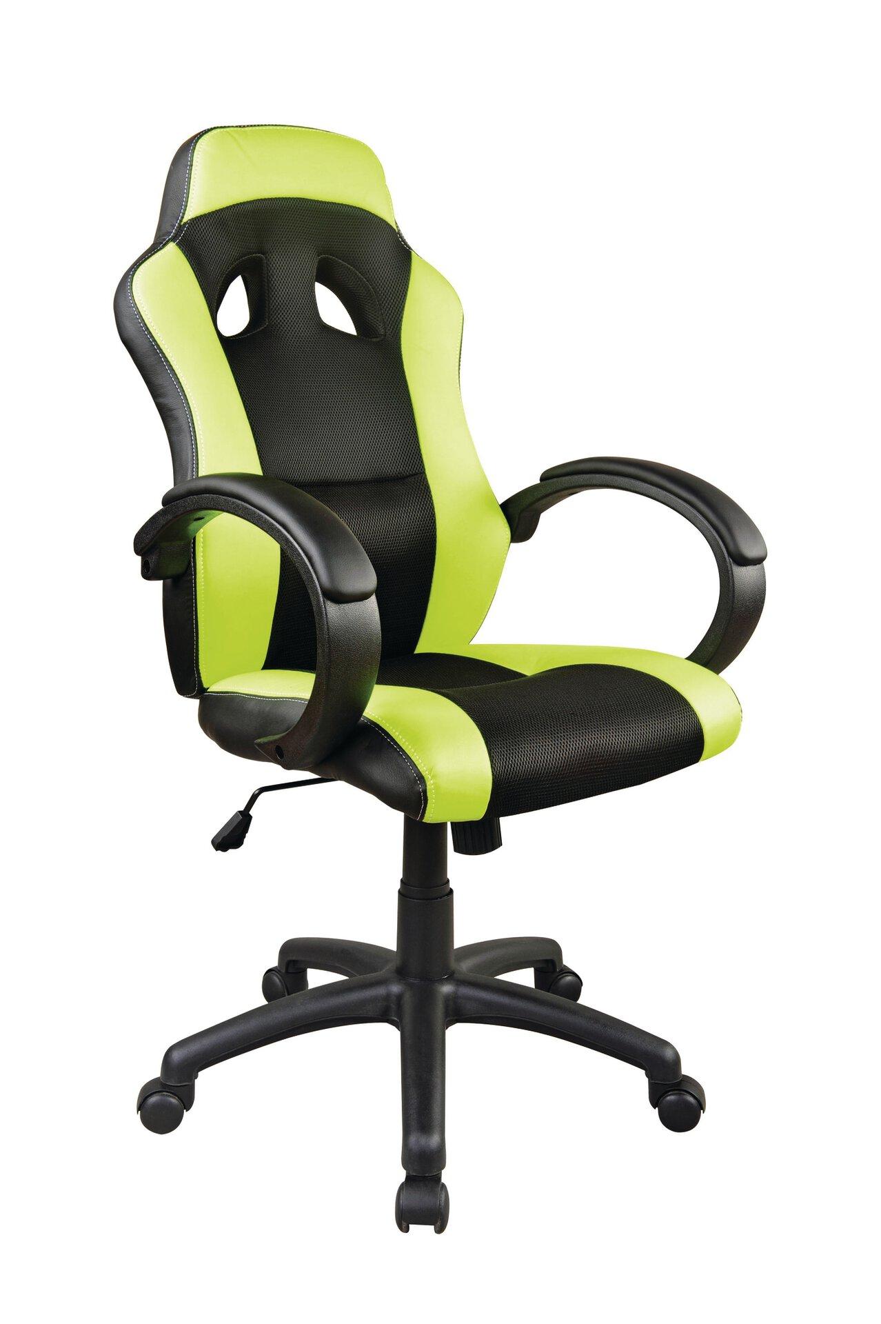 Büro-Drehstuhl ACTION CELECT Textil schwarz 60 x 120 x 60 cm