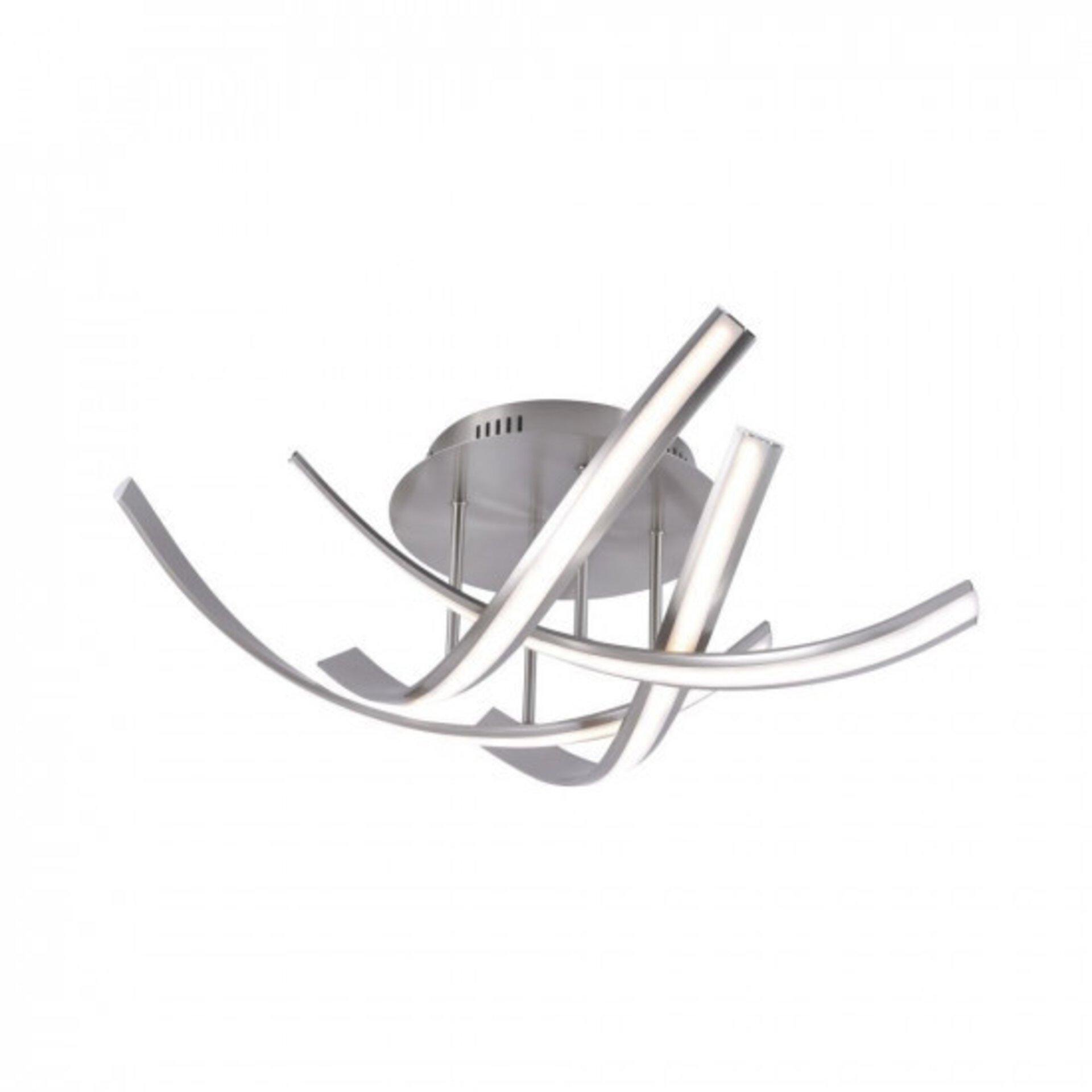 Deckenleuchte LINDA Paul Neuhaus Metall silber 73 x 20 x 73 cm