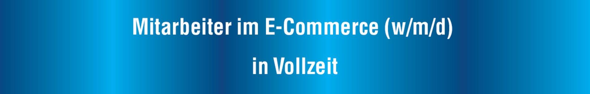"""Banner """"Karriere"""" Mitarbeiter im E-Commerce"""
