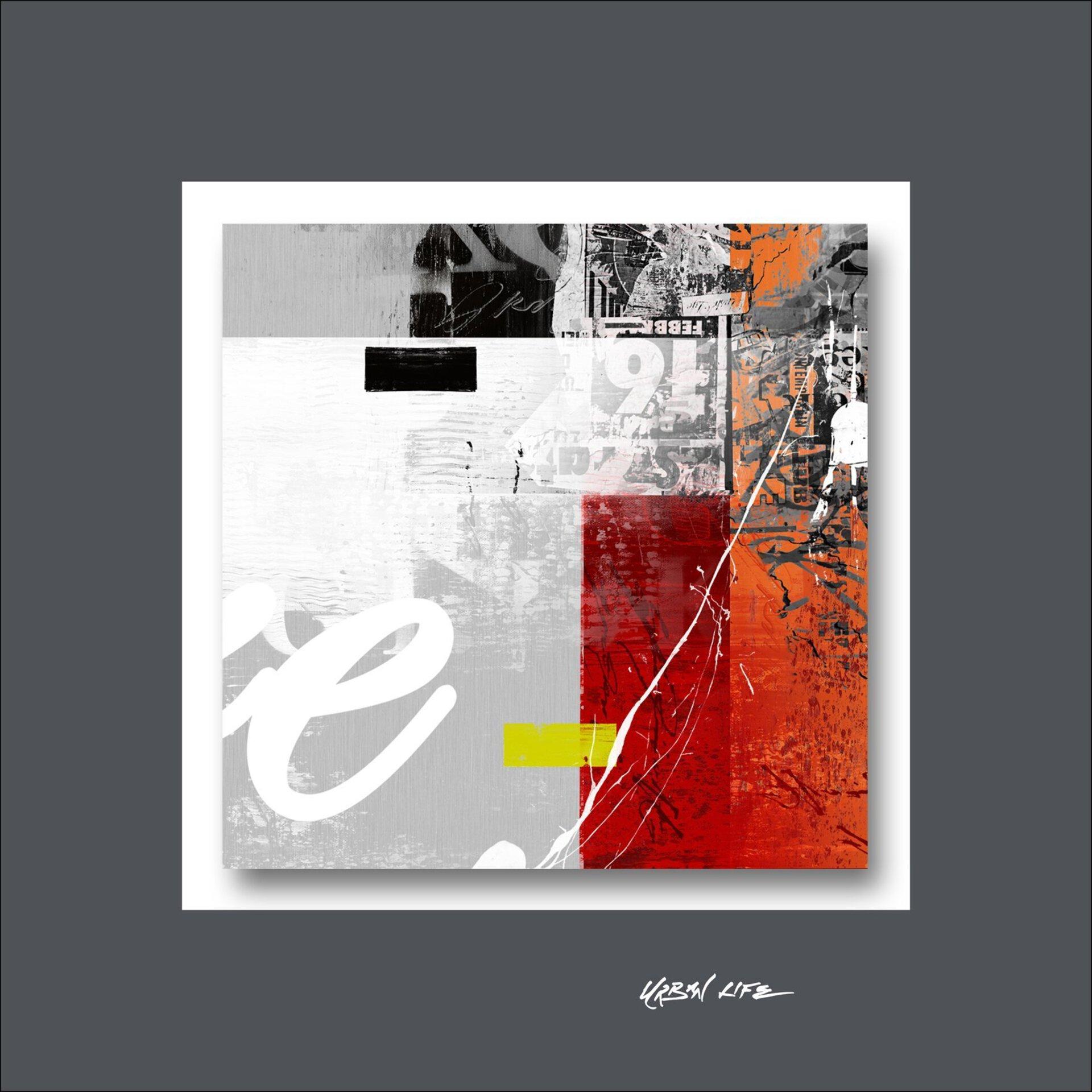 Bild Mix On Stone III Pro-Art Metall mehrfarbig 50 x 50 x 1 cm