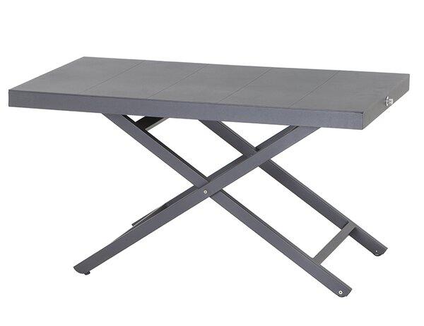 Loungetisch Siena Garden Metall matt graphit ca. 110 cm x 62 cm x 60 cm