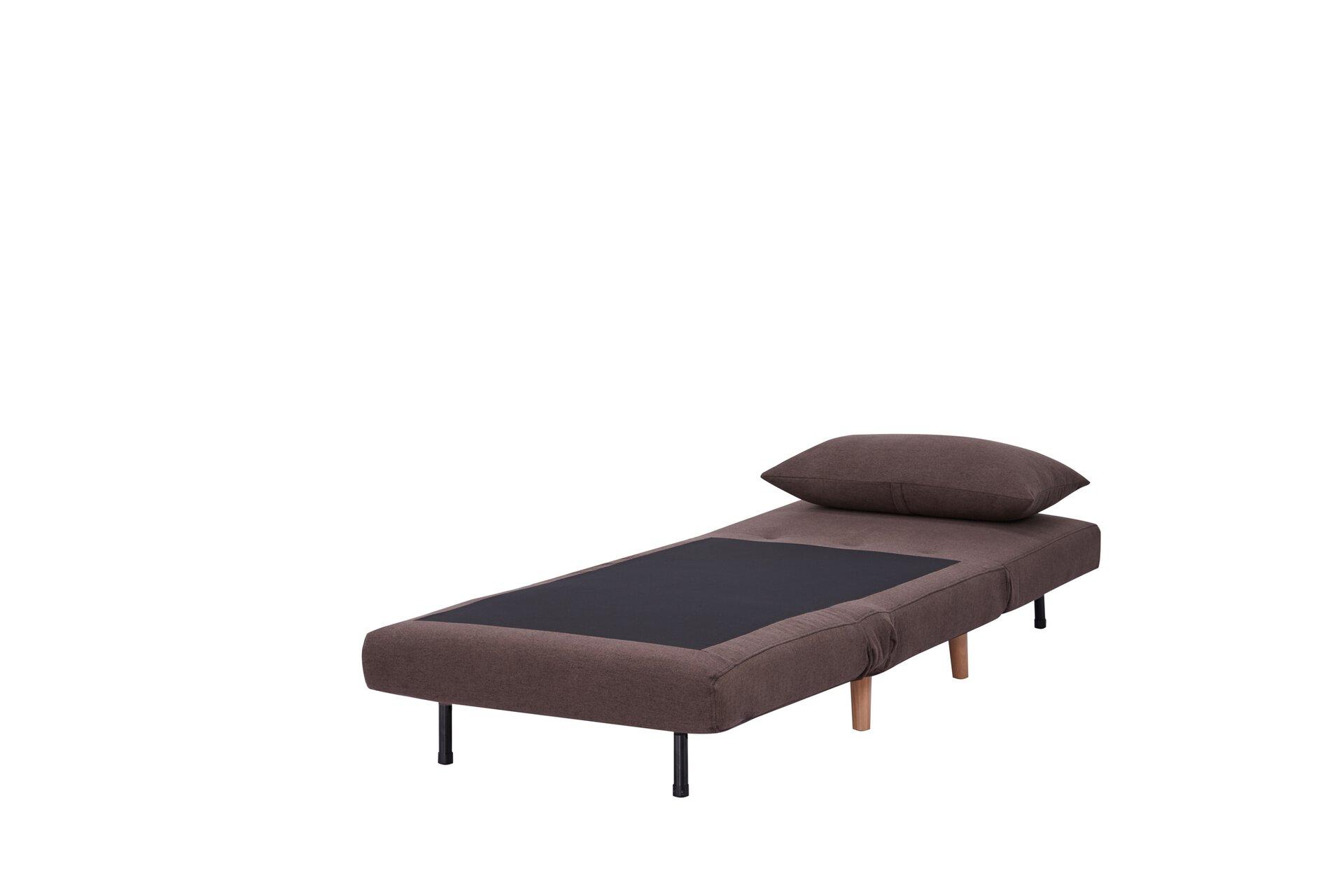 Schlafsessel HKS01 CELECT Textil braun 77 x 81 x 90 cm