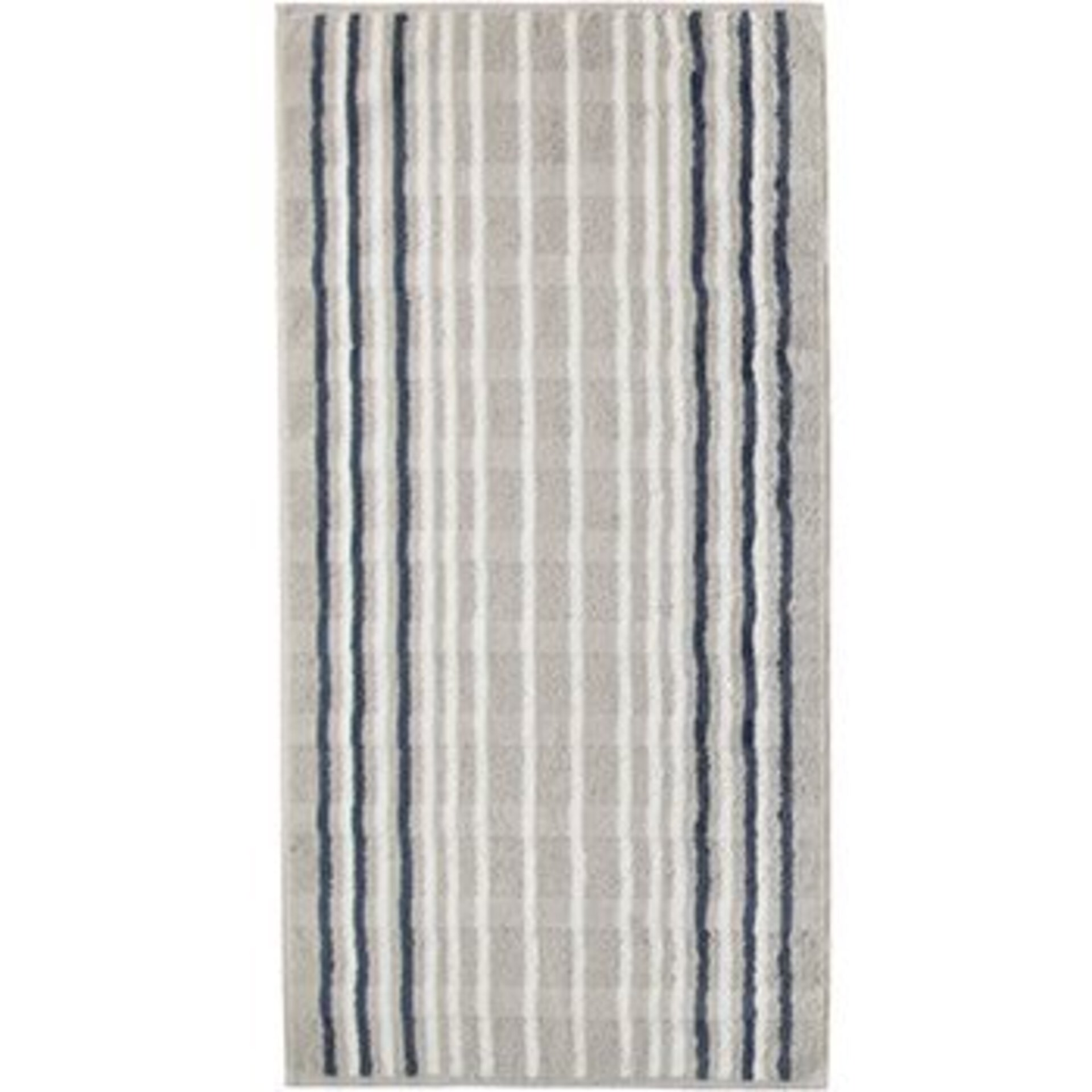 Handtuch Cawö Textil grau 50 x 100 cm