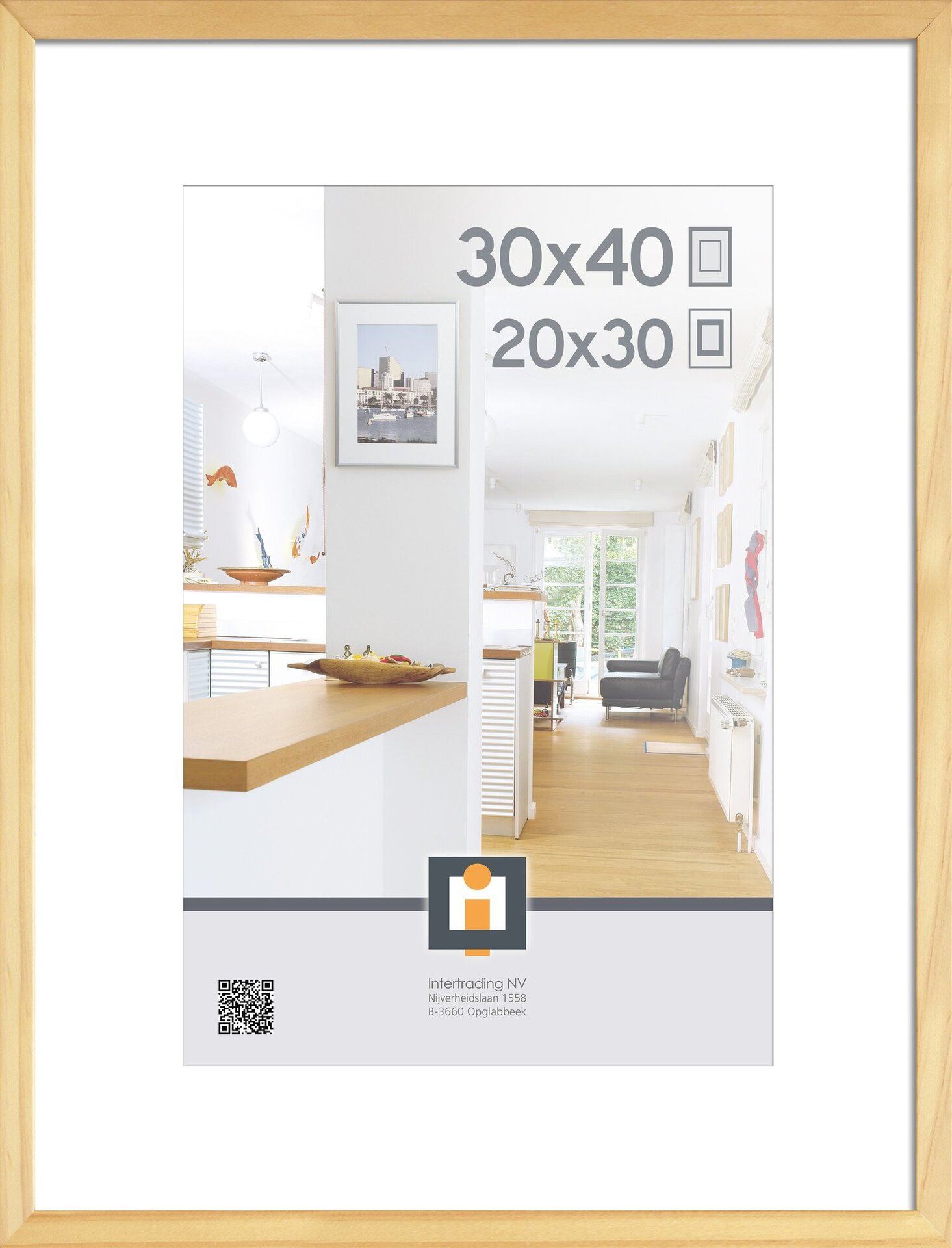 Bilderrahmen GÖTEBORG INTERTRADING Kunststoff 32 x 42 x 2 cm