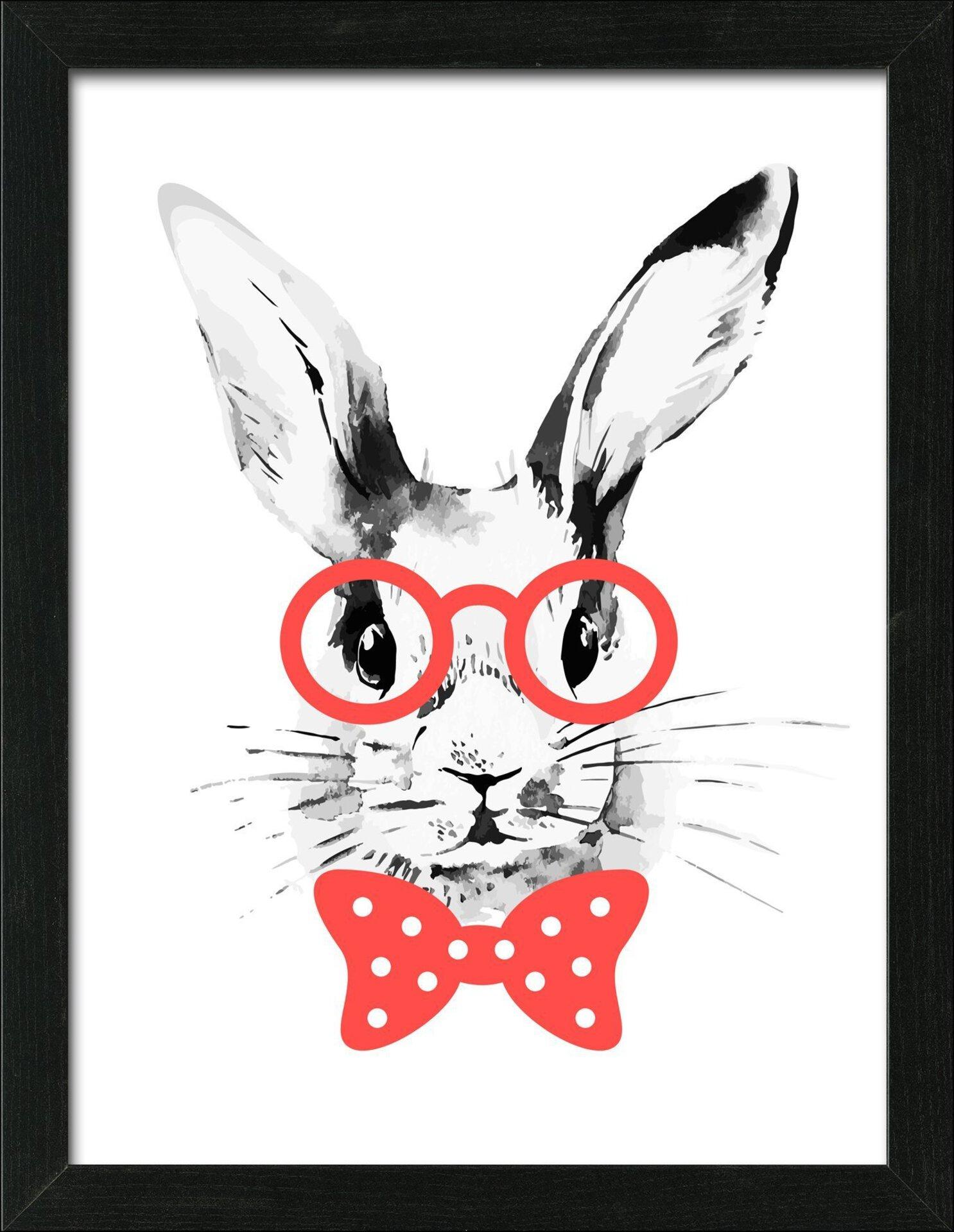 Bild Crazy Rabbit Pro-Art Holzwerkstoff 45 x 35 x 3 cm