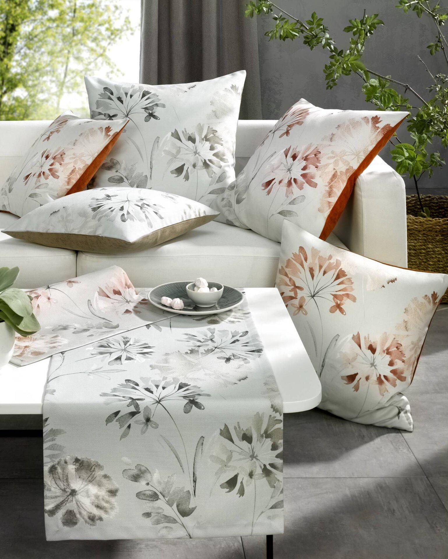 Tischläufer Carina Ambiente Trendlife Textil mehrfarbig 40 x 140 cm