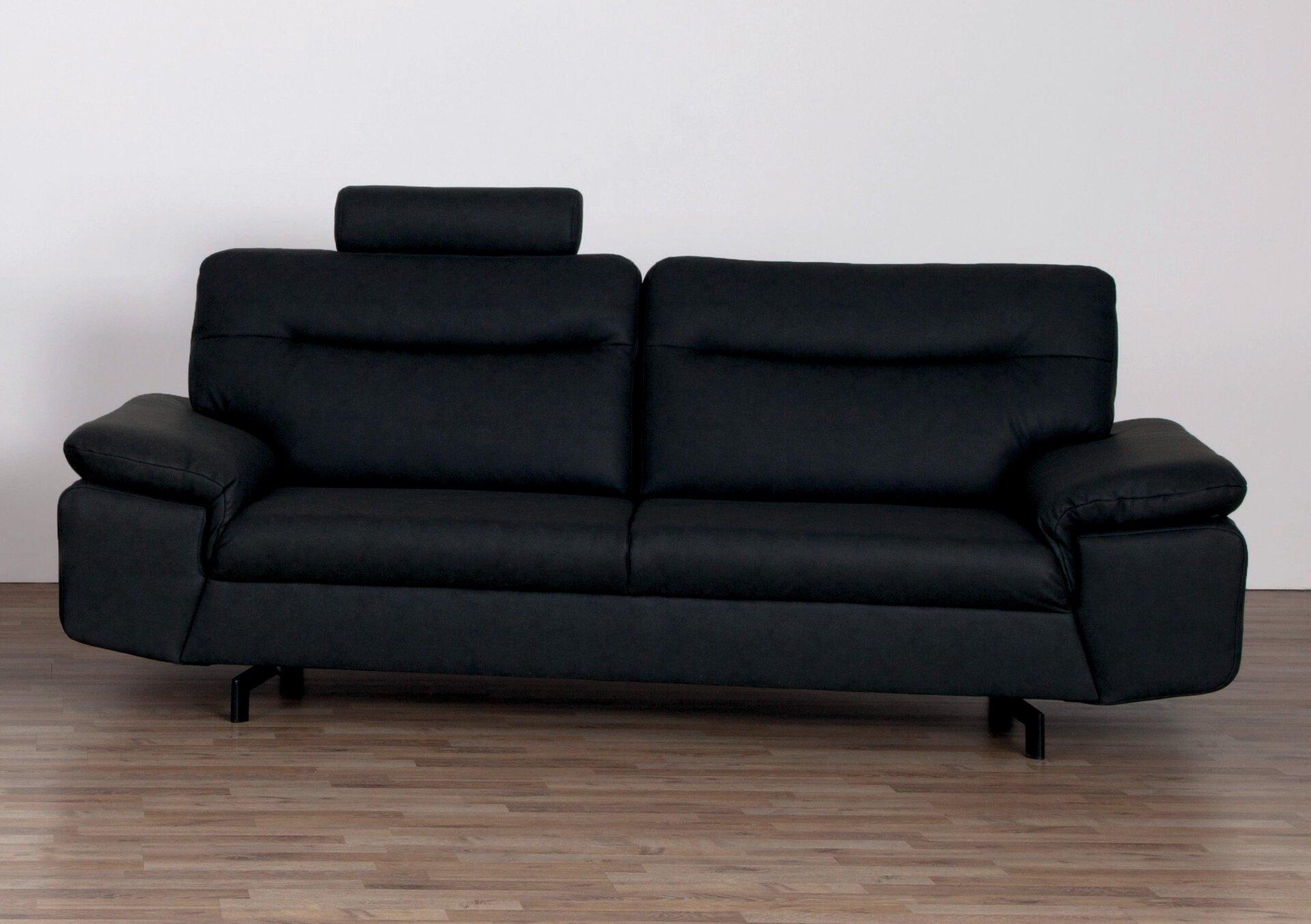Sofa 3-Sitzer STAN CELECT Kunststoff grau 89 x 97 x 222 cm