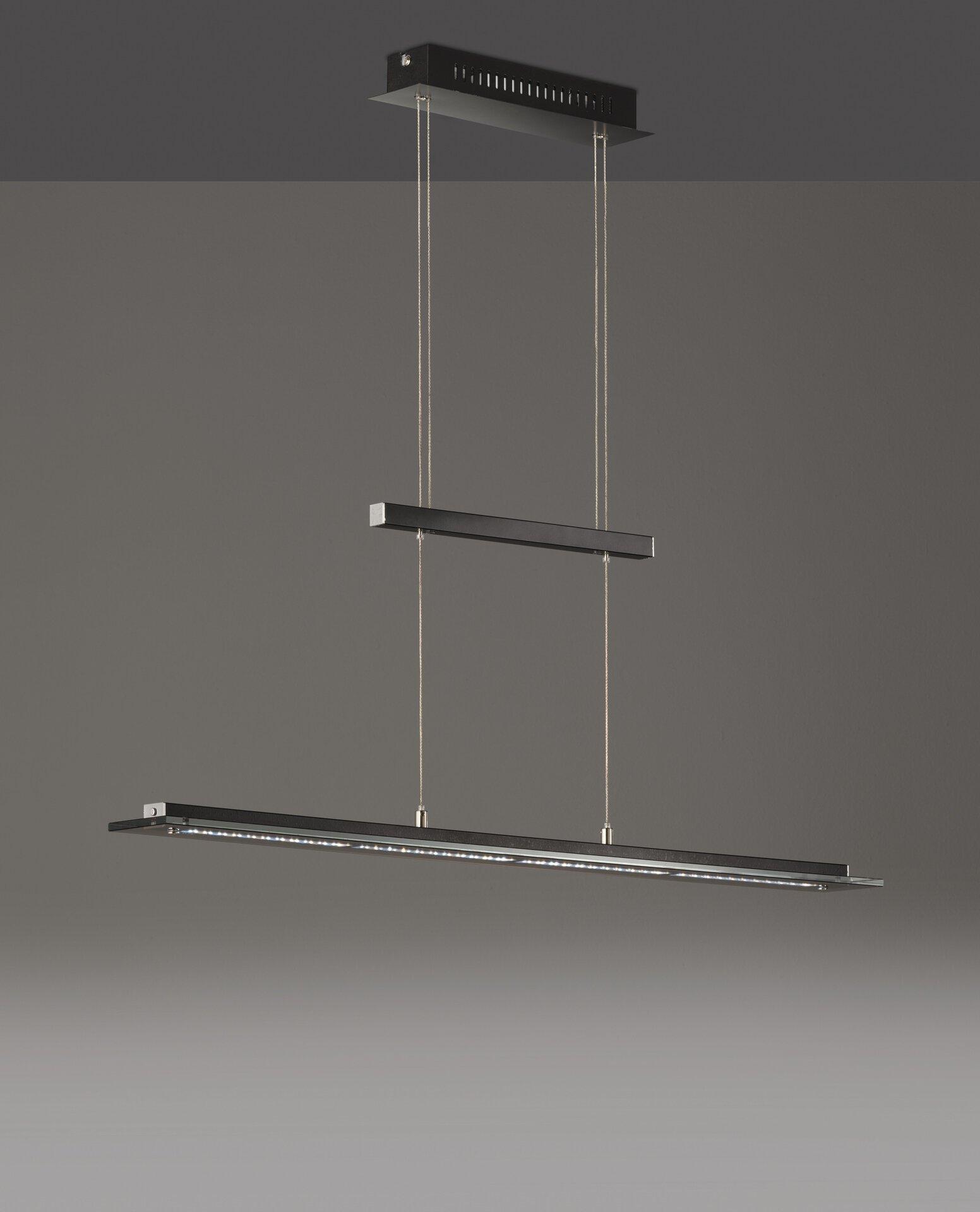Hängeleuchte Tenso TW Fischer-Honsel Metall 9 x 150 x 88 cm