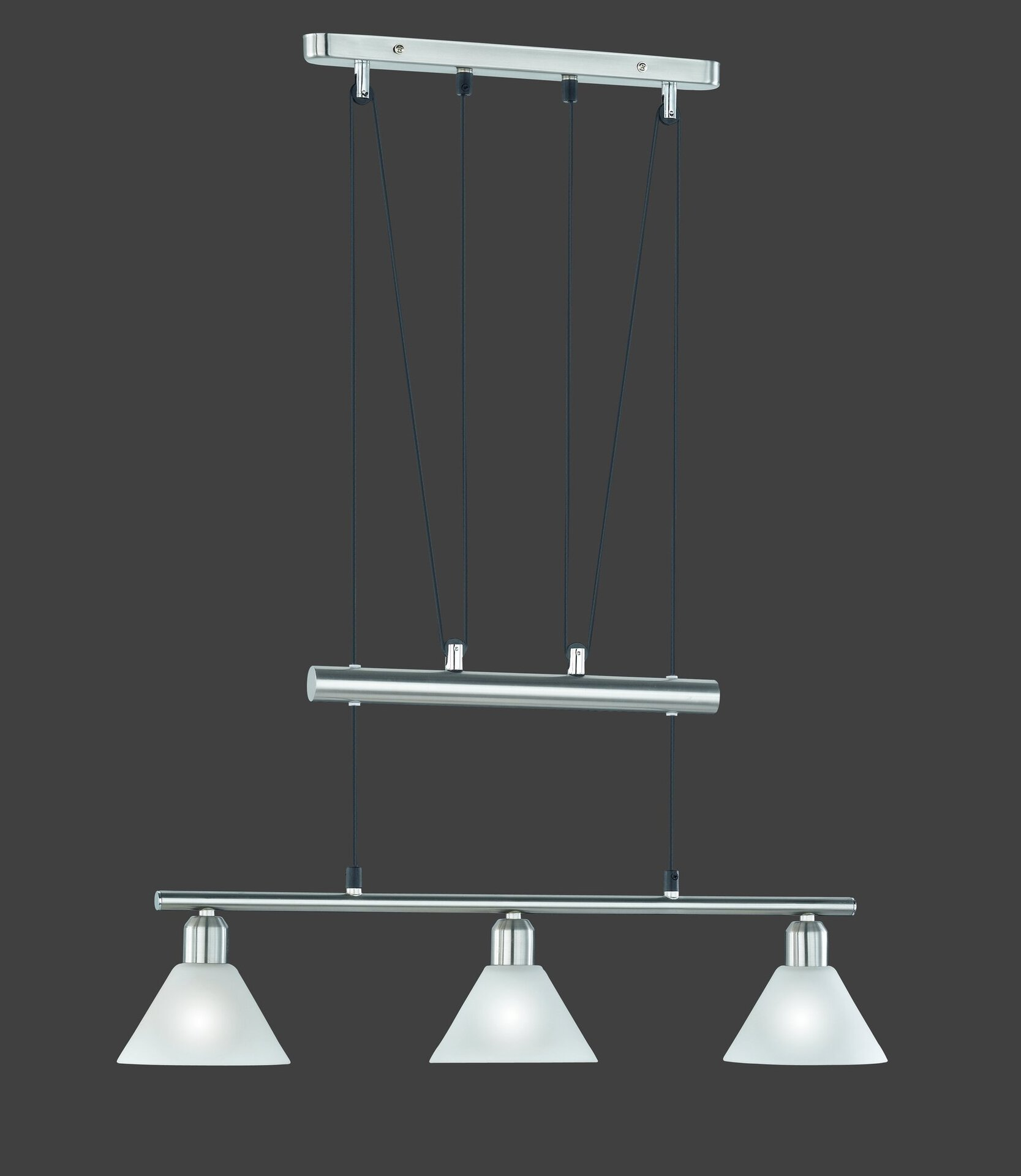 Pendelleuchte Stamina Trio Leuchten Metall 180 x 66 cm