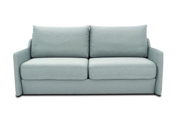 Sofa 2-Sitzer tiny.collection Textil 3531 Glad eisblau ca. 96 cm x 107 cm x 198 cm