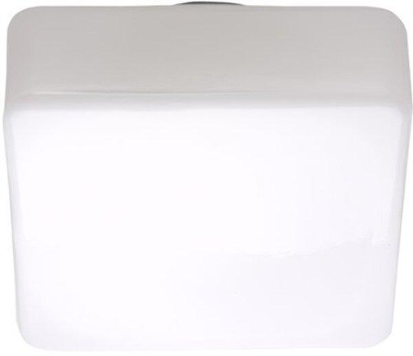 Deckenleuchte Brilliant Glas weiß ca. 23 cm x 11 cm x 23 cm