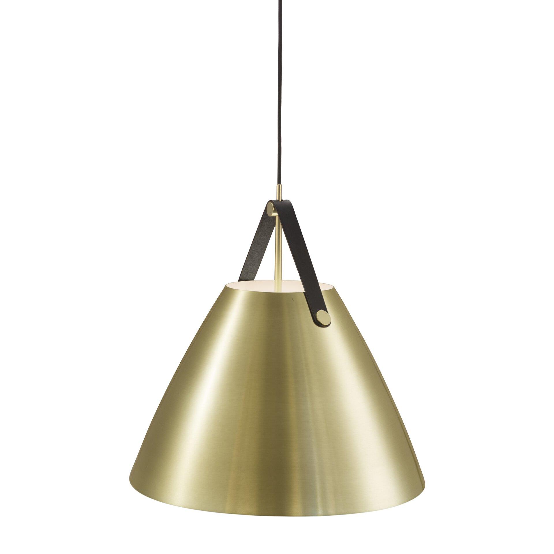 Hängeleuchte STRAP DESIGN Nordlux Metall gold 48 x 300 x 48 cm