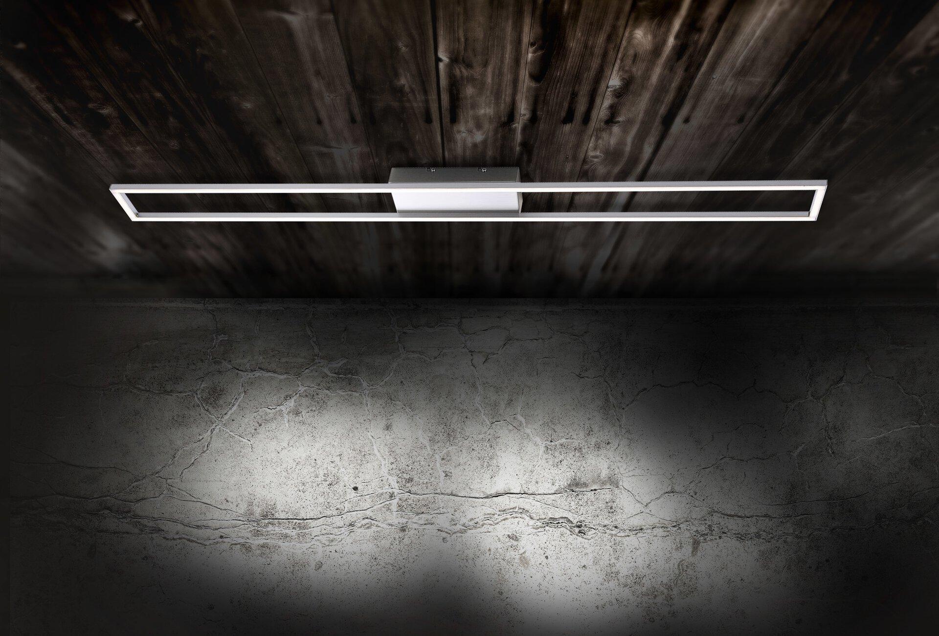 Deckenleuchte INIGO Paul Neuhaus Metall silber 10 x 6 x 110 cm